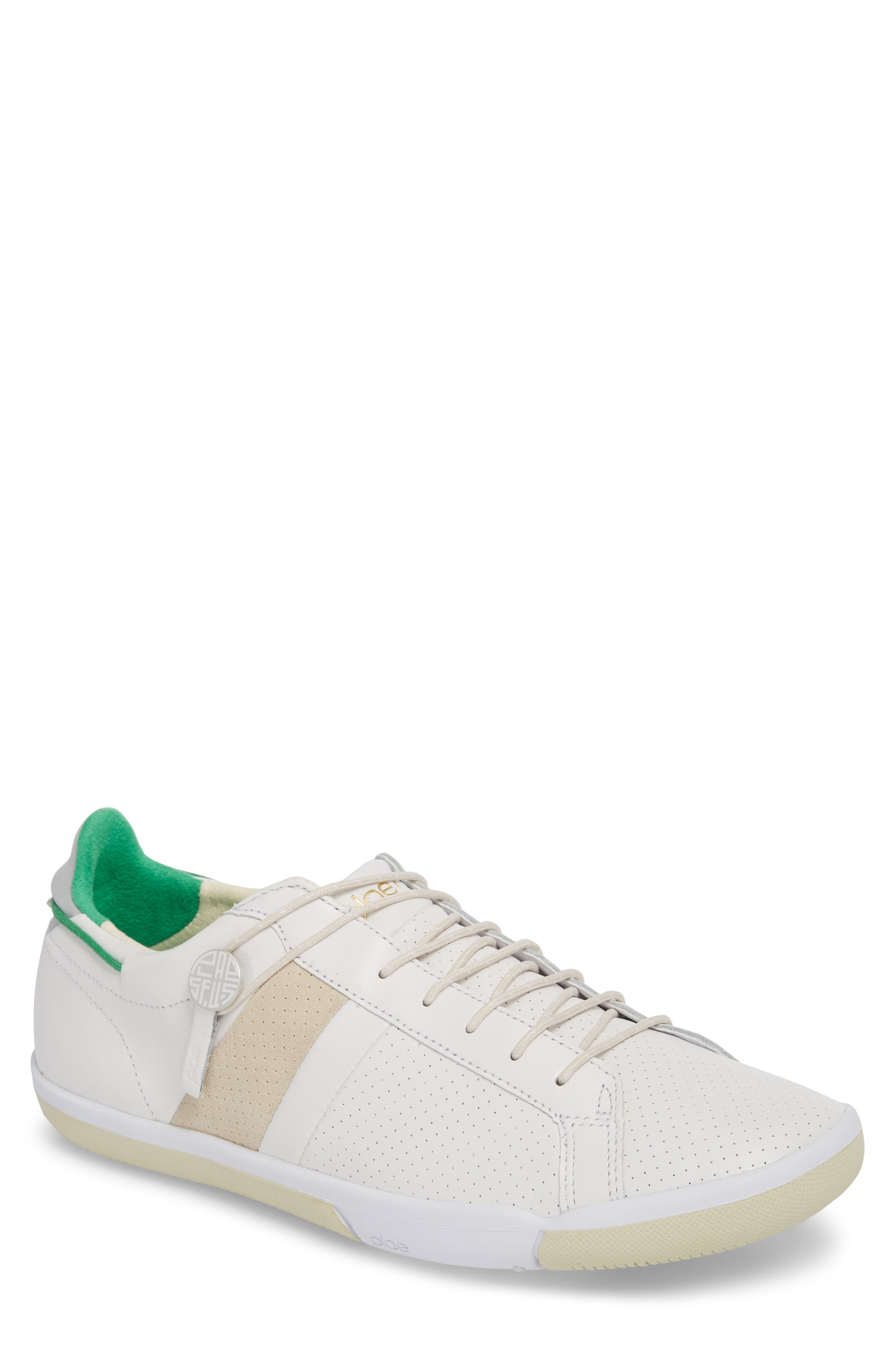 Mulberry Low Top Sneaker,                             Main thumbnail 1, color,                             WHITE