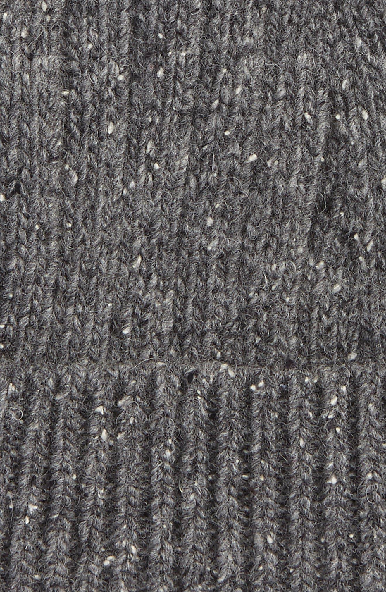 Wool Blend Beanie,                             Alternate thumbnail 4, color,