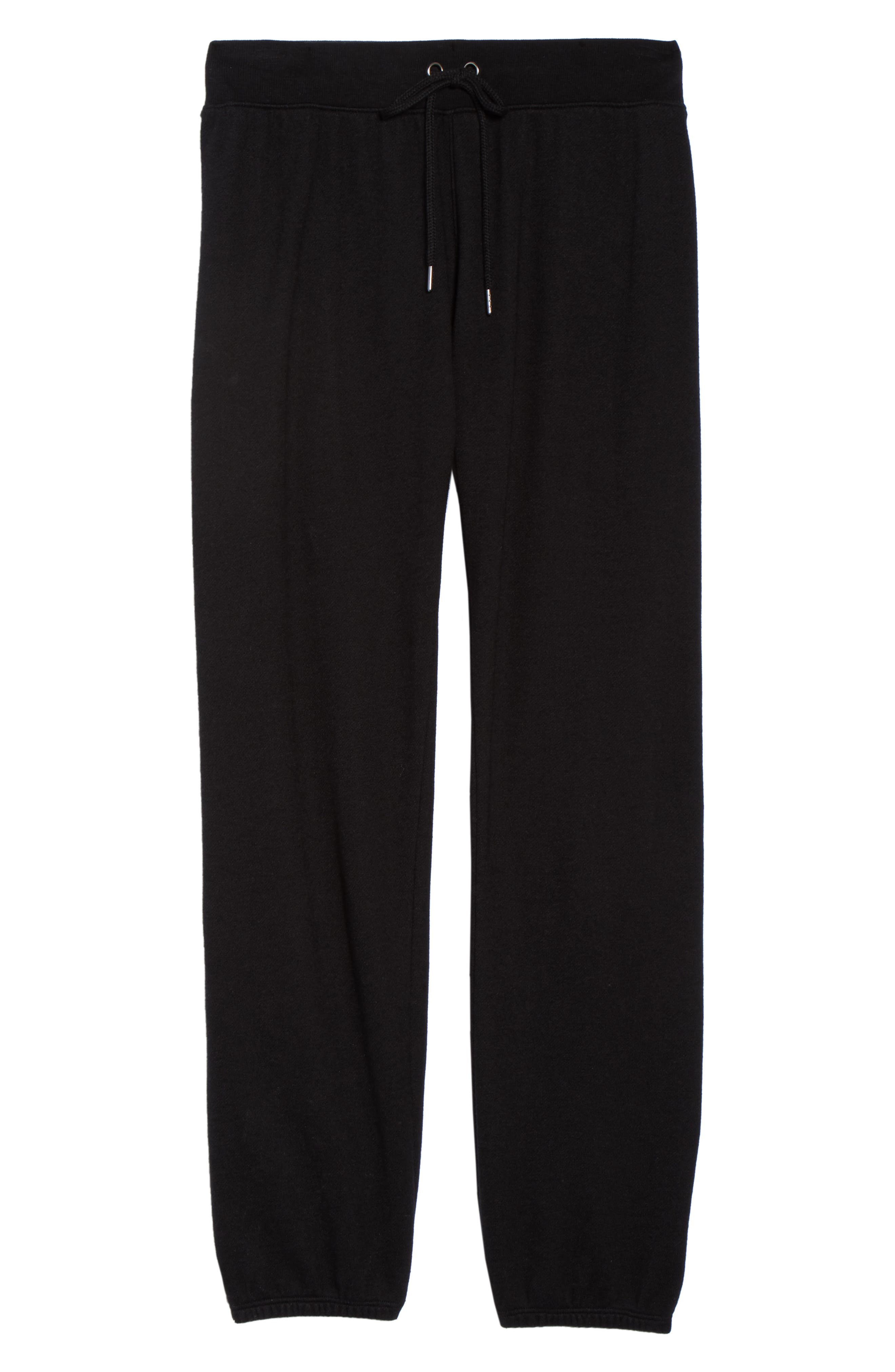 Loung Sweatpants,                             Alternate thumbnail 6, color,                             FADED BLACK