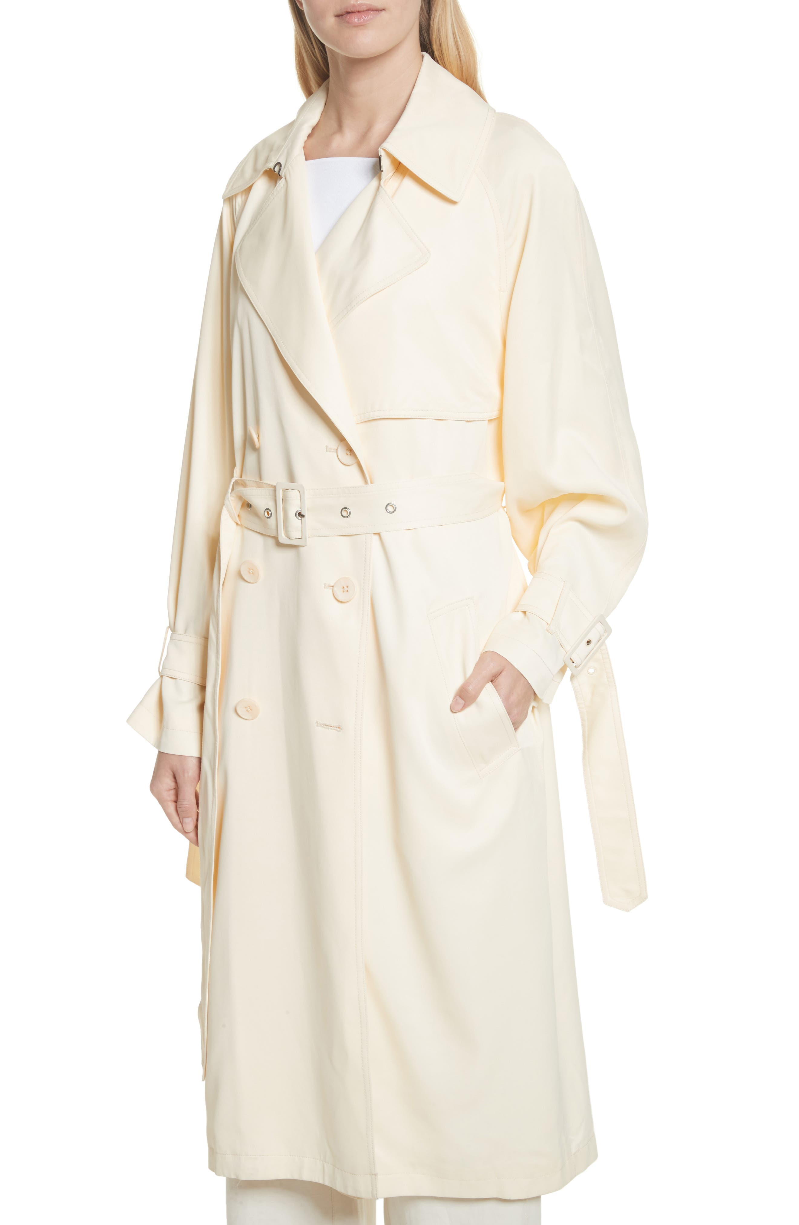 Drapey Trench Coat,                             Alternate thumbnail 4, color,                             252