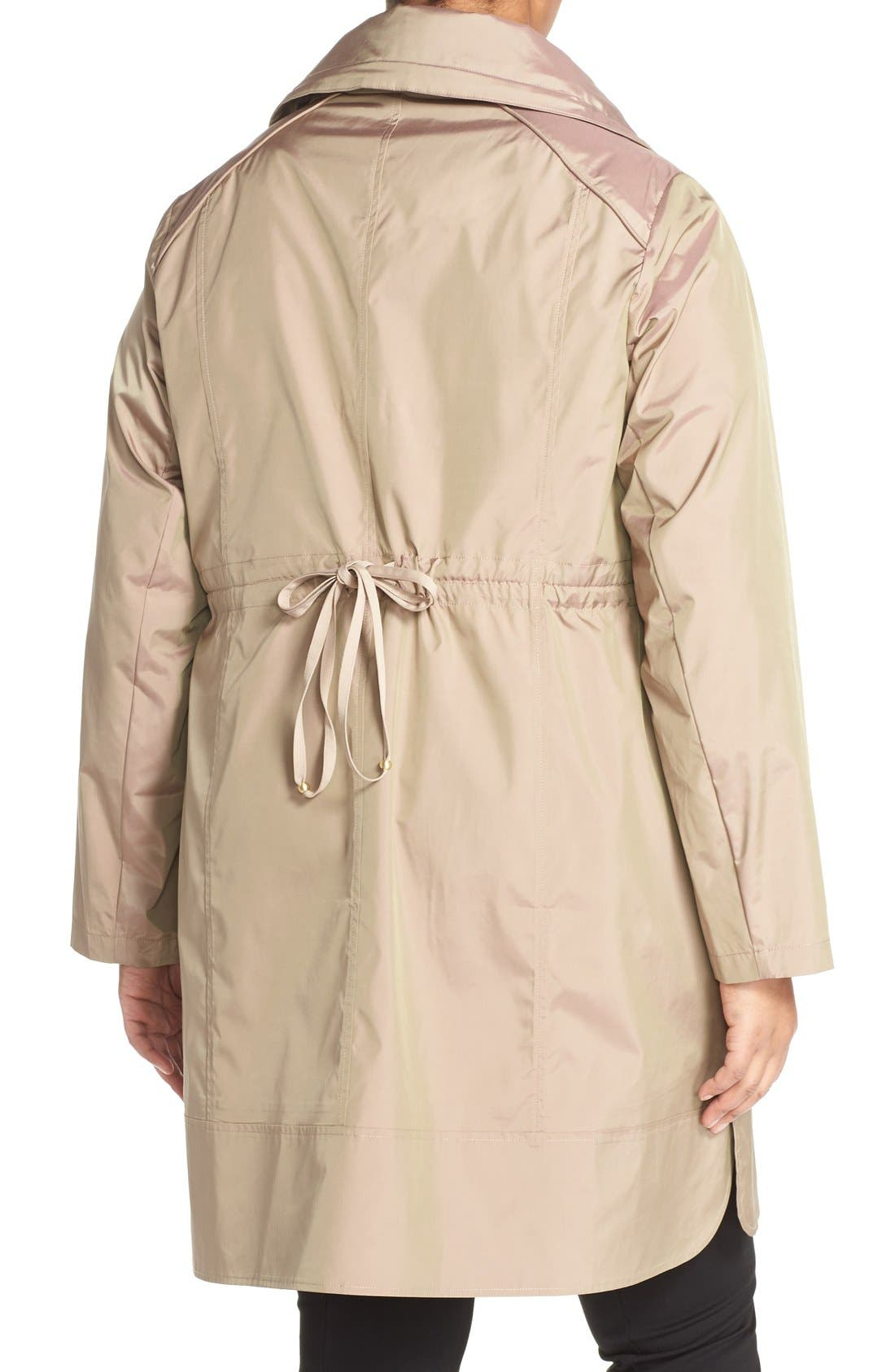 Water-Resistant Packable Hooded Anorak,                             Alternate thumbnail 14, color,
