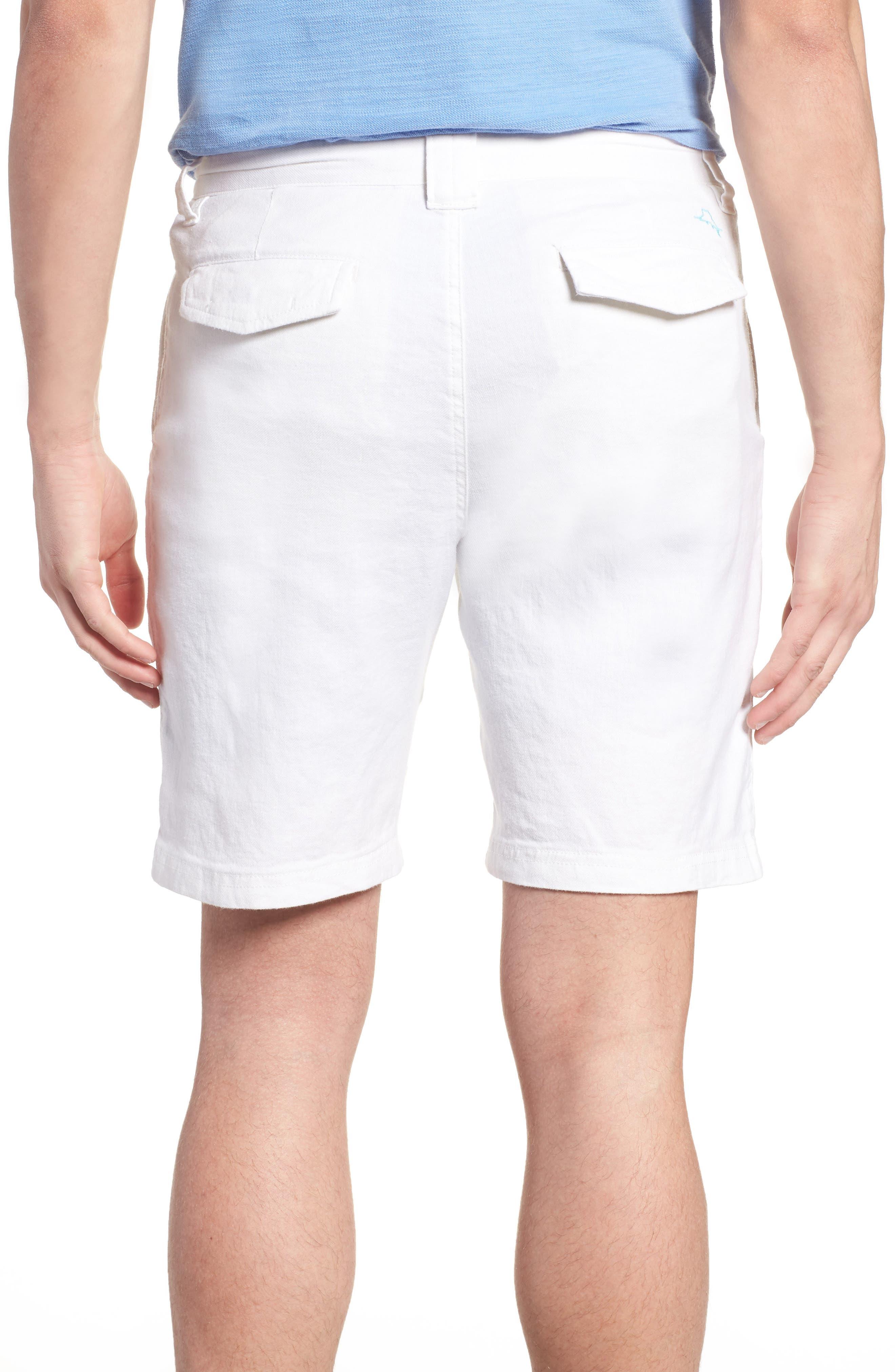 Beach Linen Blend Shorts,                             Alternate thumbnail 2, color,                             CONTINENTAL