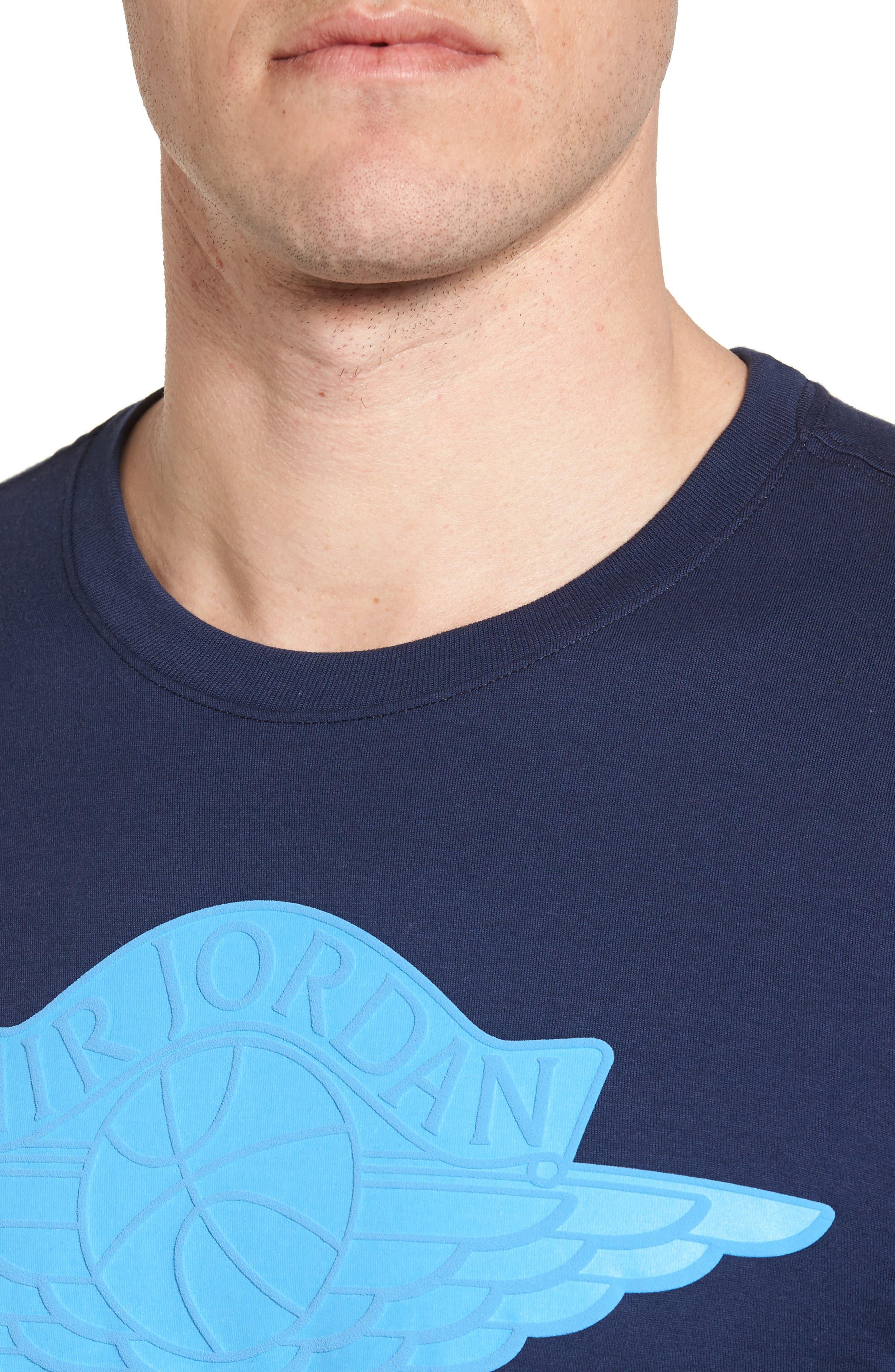 Sportswear Wings Logo Graphic T-Shirt,                             Alternate thumbnail 11, color,