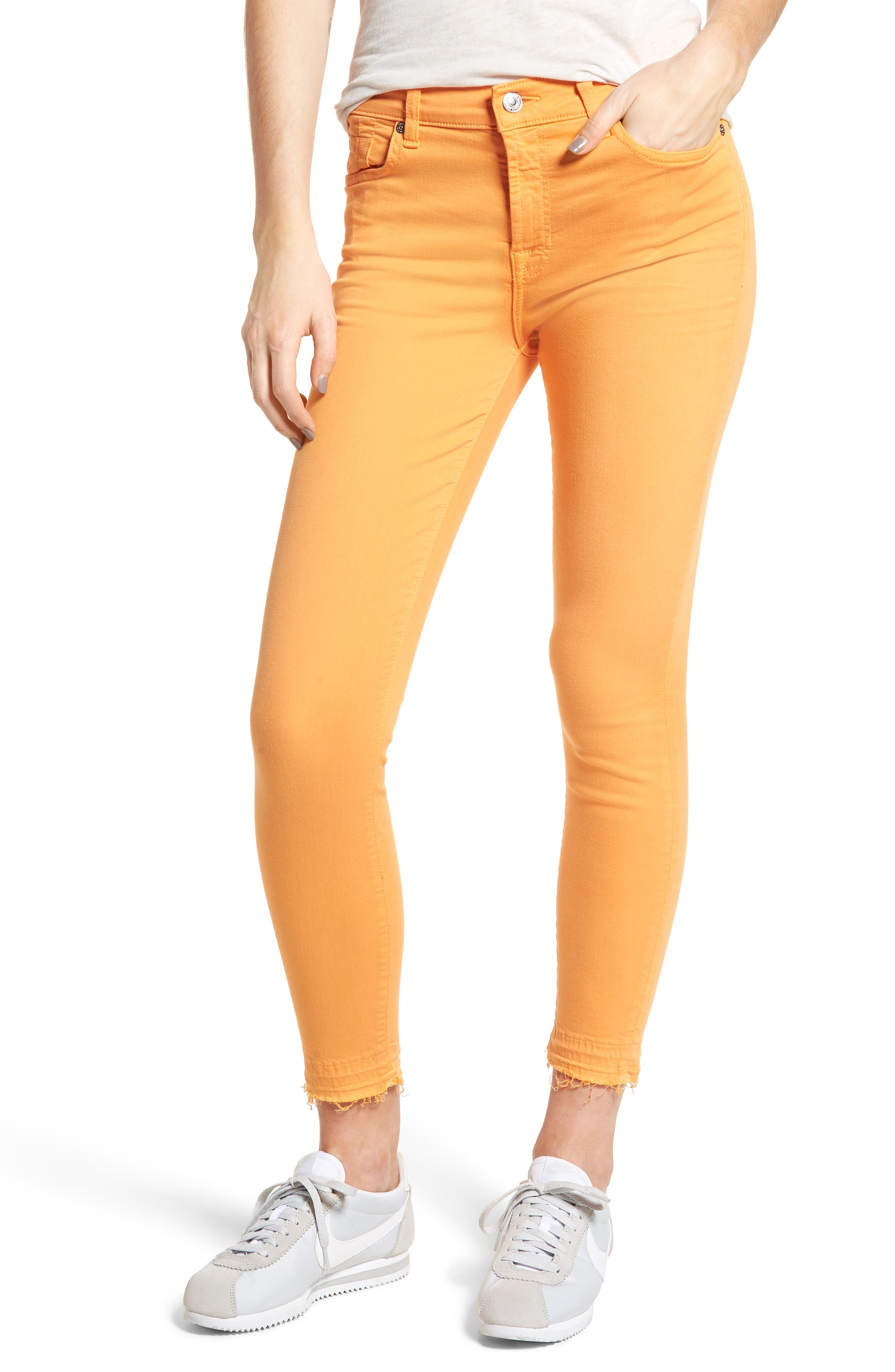 Released Hem Ankle Skinny Jeans,                             Main thumbnail 8, color,