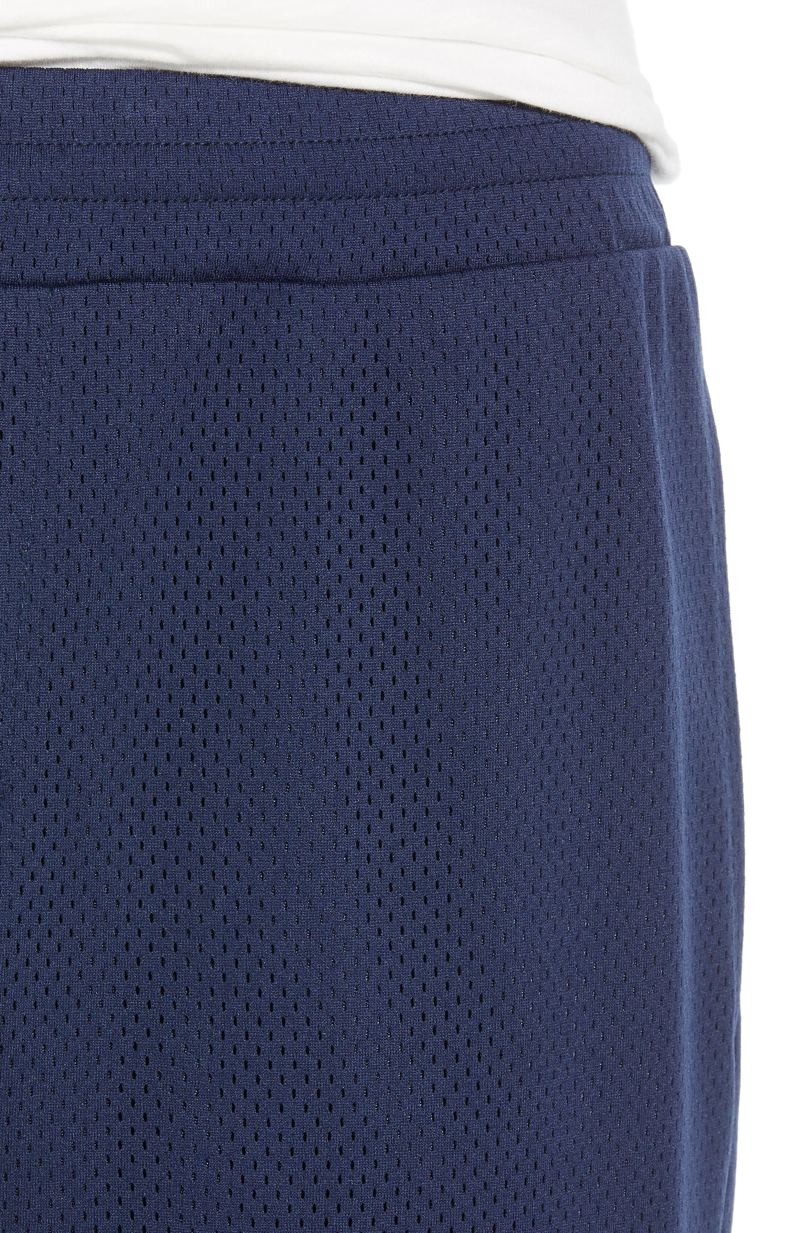 Basketball Shorts,                             Alternate thumbnail 4, color,                             NAVY PEACOAT