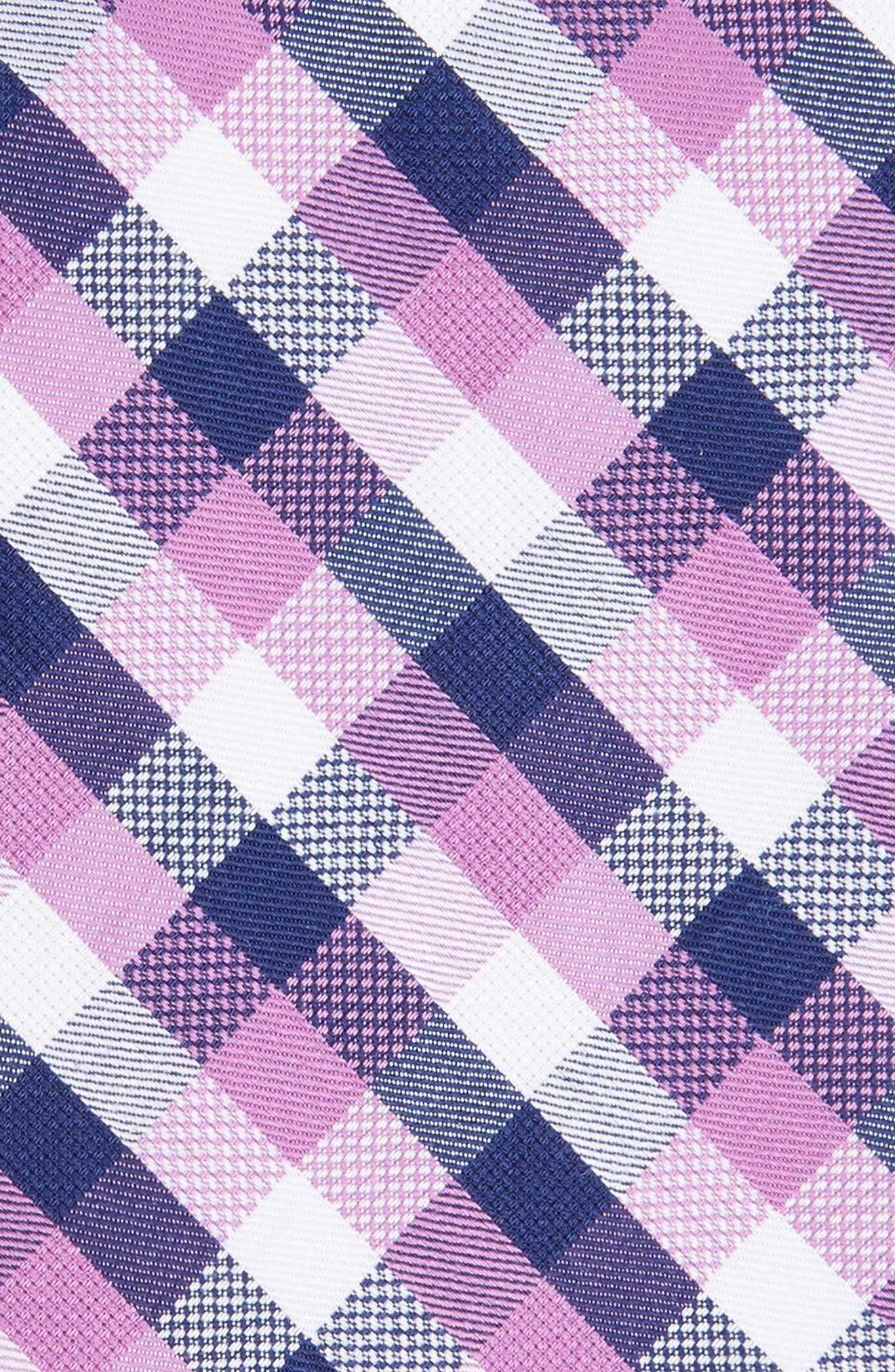 Scott Check Cotton Skinny Tie,                             Alternate thumbnail 10, color,