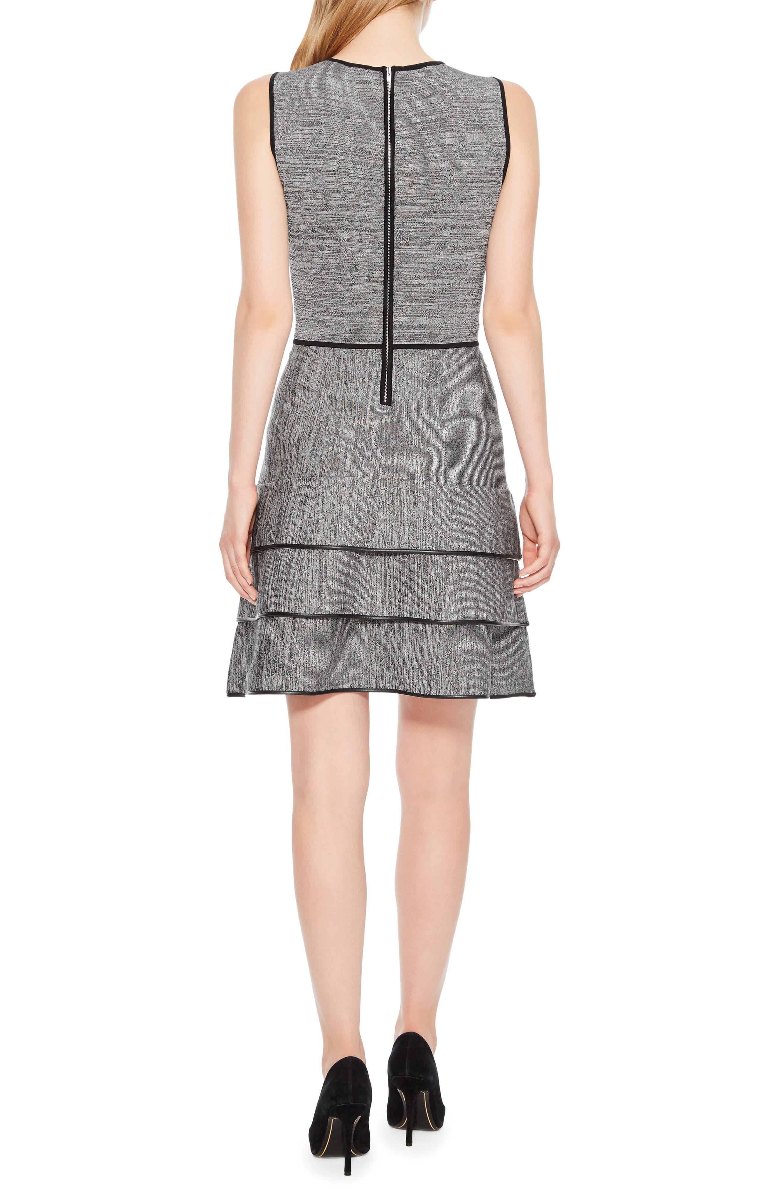 Sondra Knit Dress,                             Alternate thumbnail 2, color,                             005