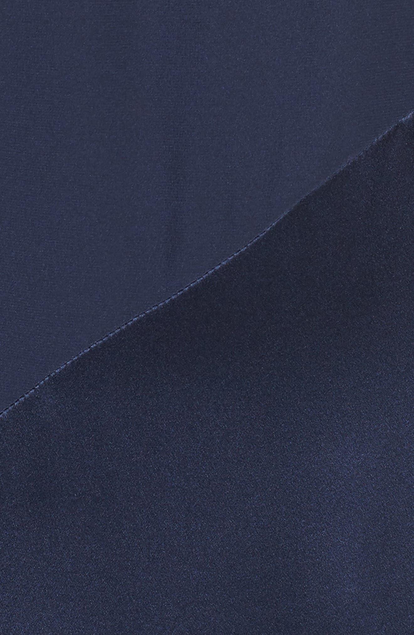 Nadeen Ruffle Cold Shoulder A-Line Dress,                             Alternate thumbnail 5, color,                             004