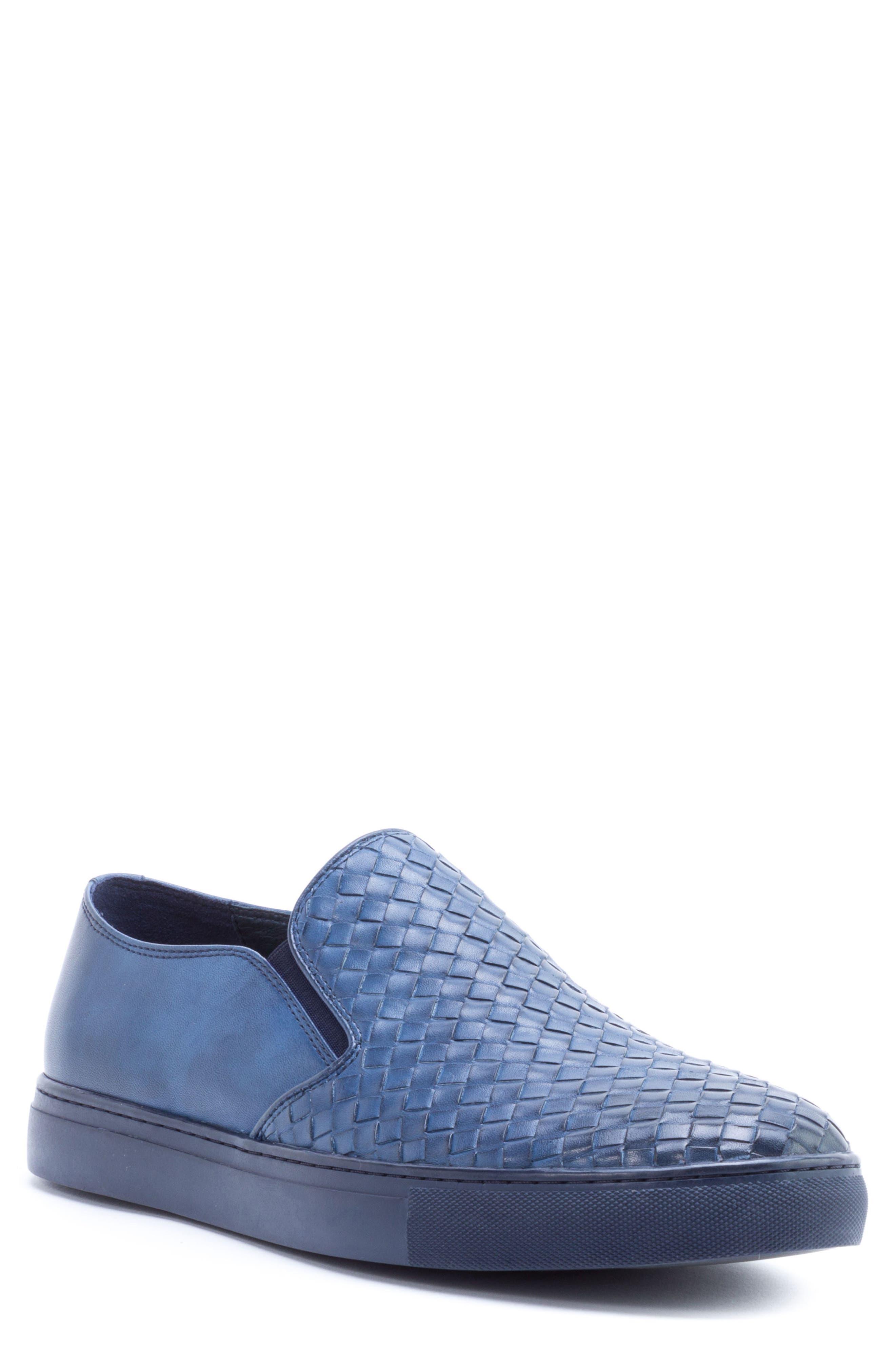Zanzara Echo Ii Woven Slip-On Sneaker, Blue