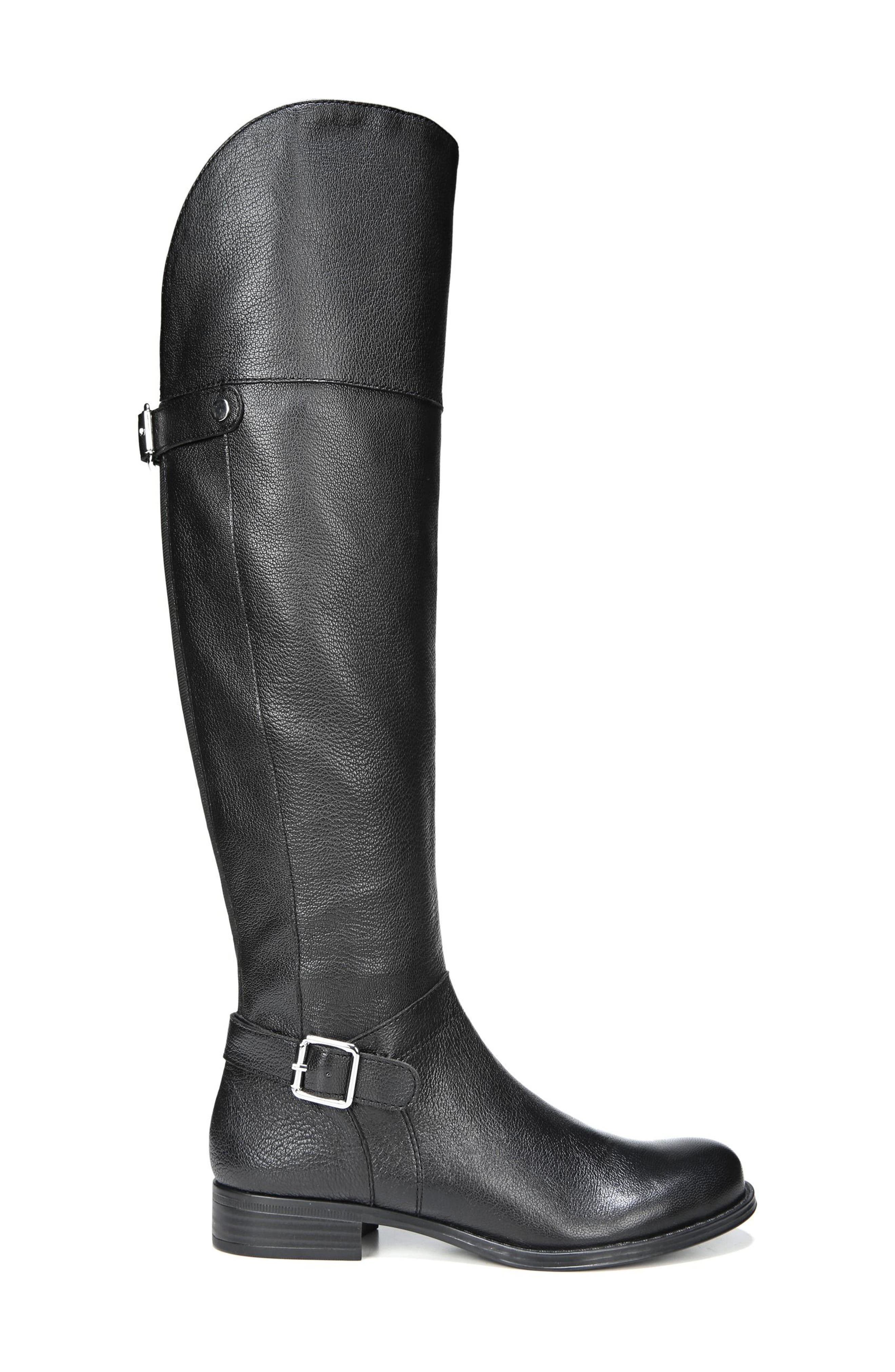 January Over the Knee High Boot,                             Alternate thumbnail 3, color,                             001
