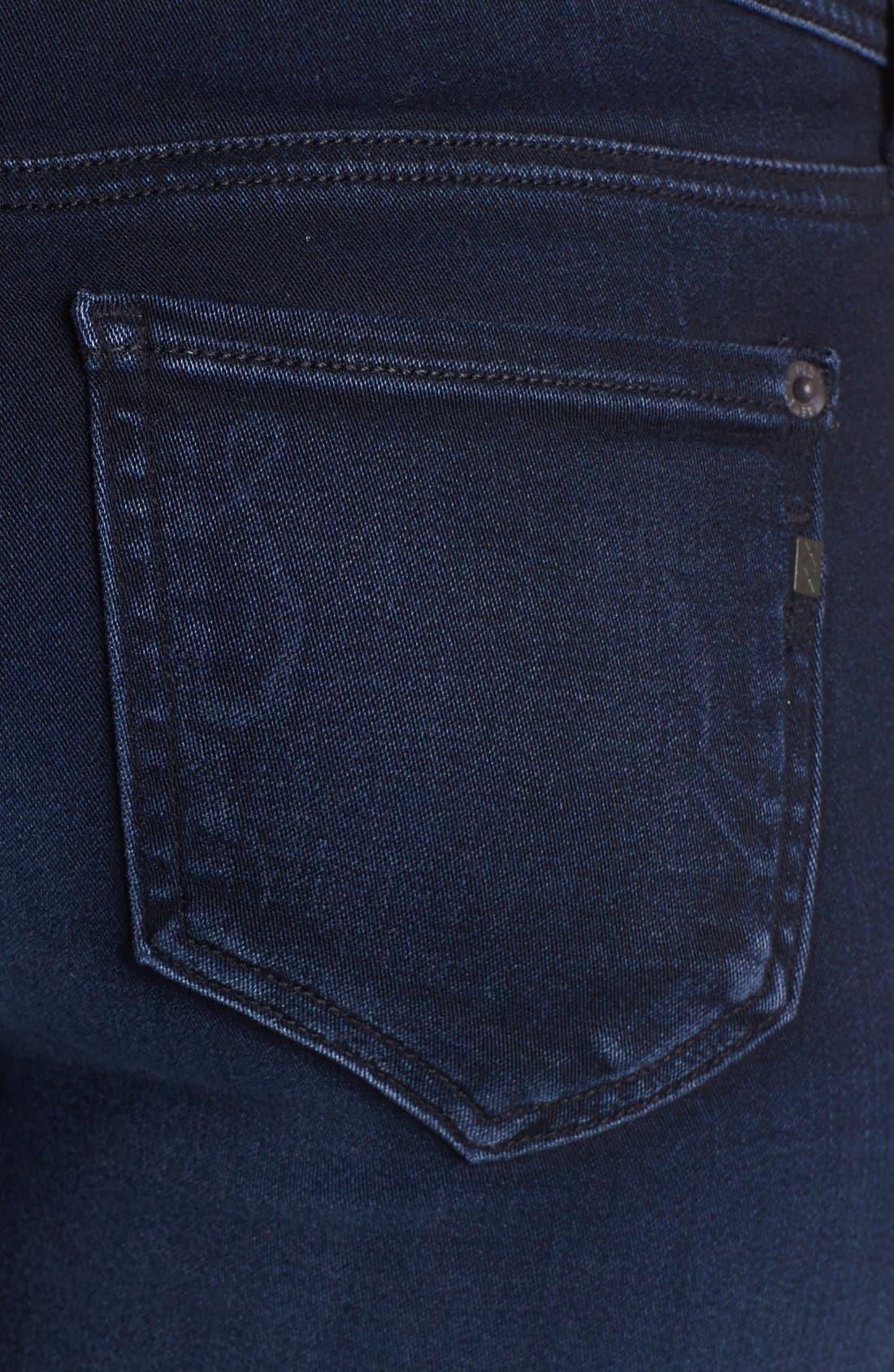 GENETIC,                             'The Stem' Mid Rise Skinny Jeans,                             Alternate thumbnail 3, color,                             405
