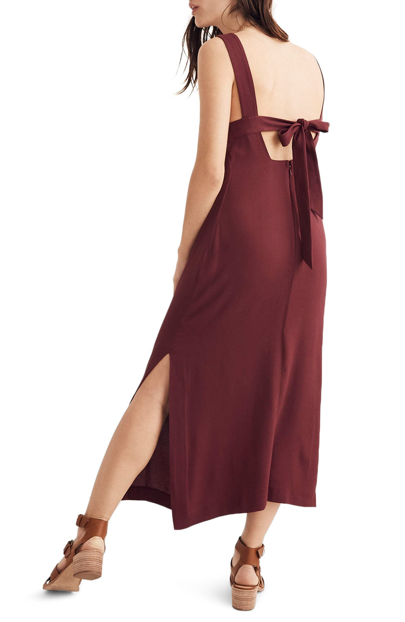 Apron Tie Back Dress,                         Main,                         color,