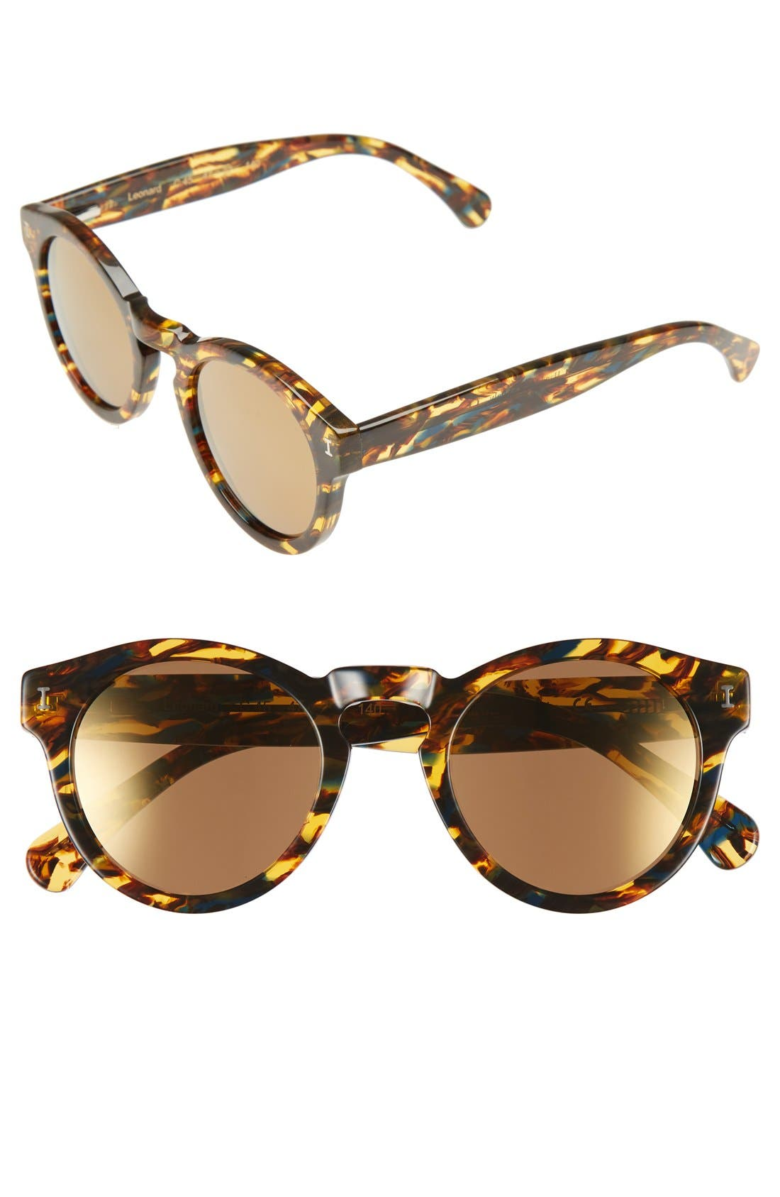 'Leonard' 47mm Sunglasses,                             Main thumbnail 61, color,