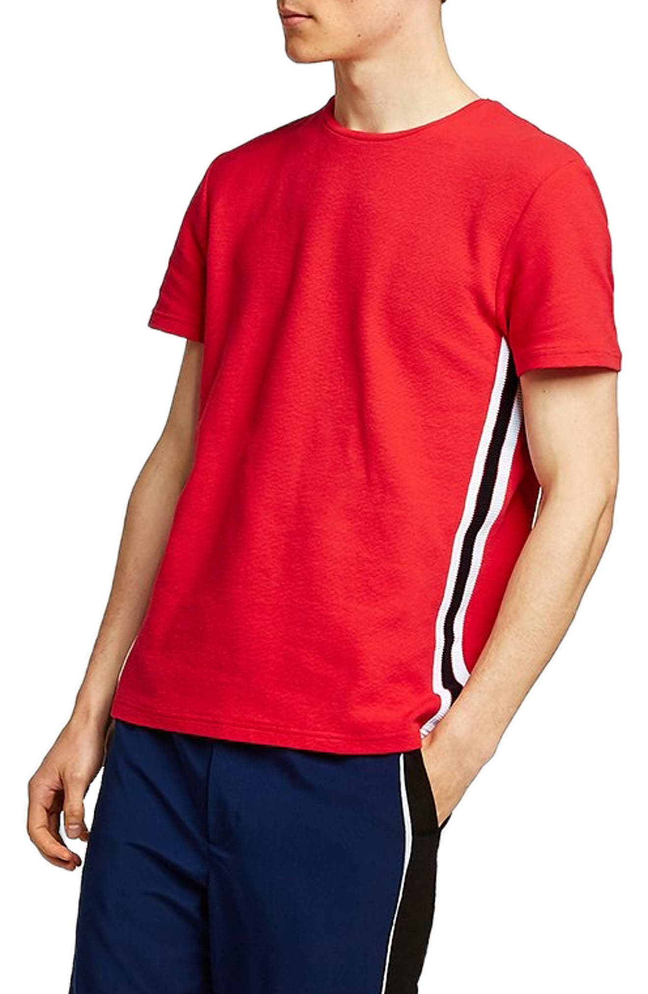 Taping Classic Fit T-Shirt,                             Alternate thumbnail 3, color,                             600