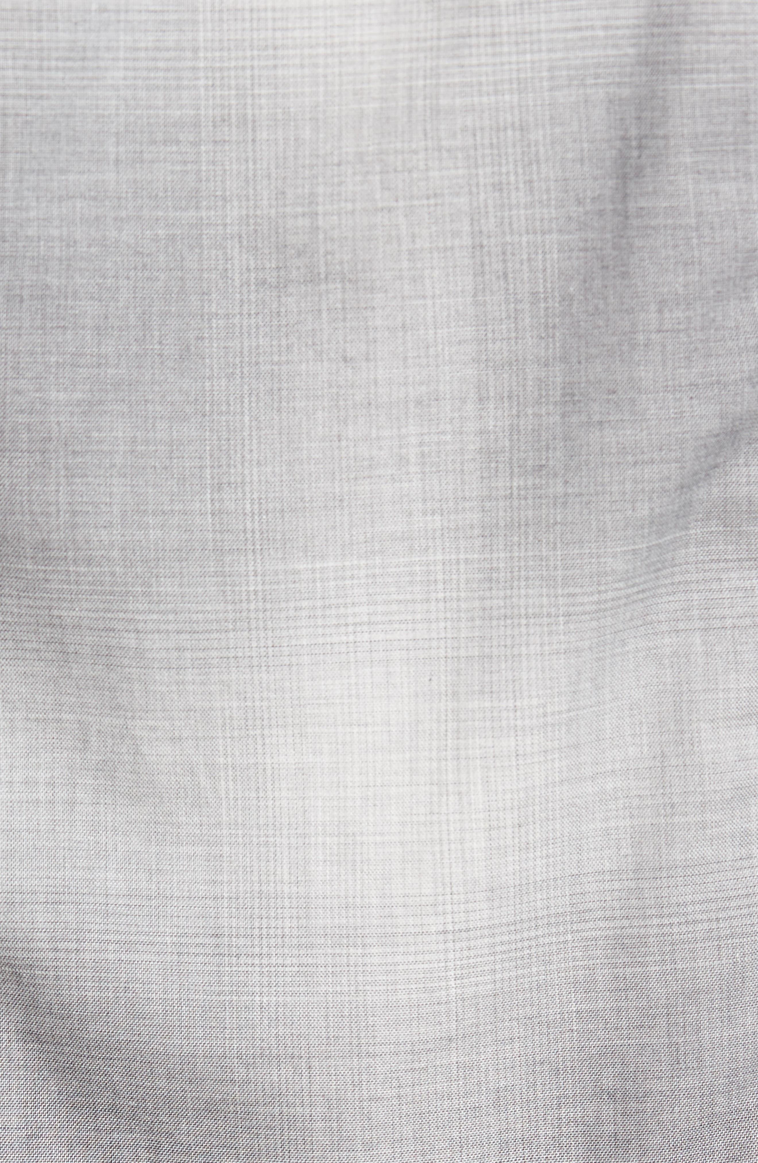 Slim Fit Plaid Sport Shirt,                             Alternate thumbnail 5, color,                             020