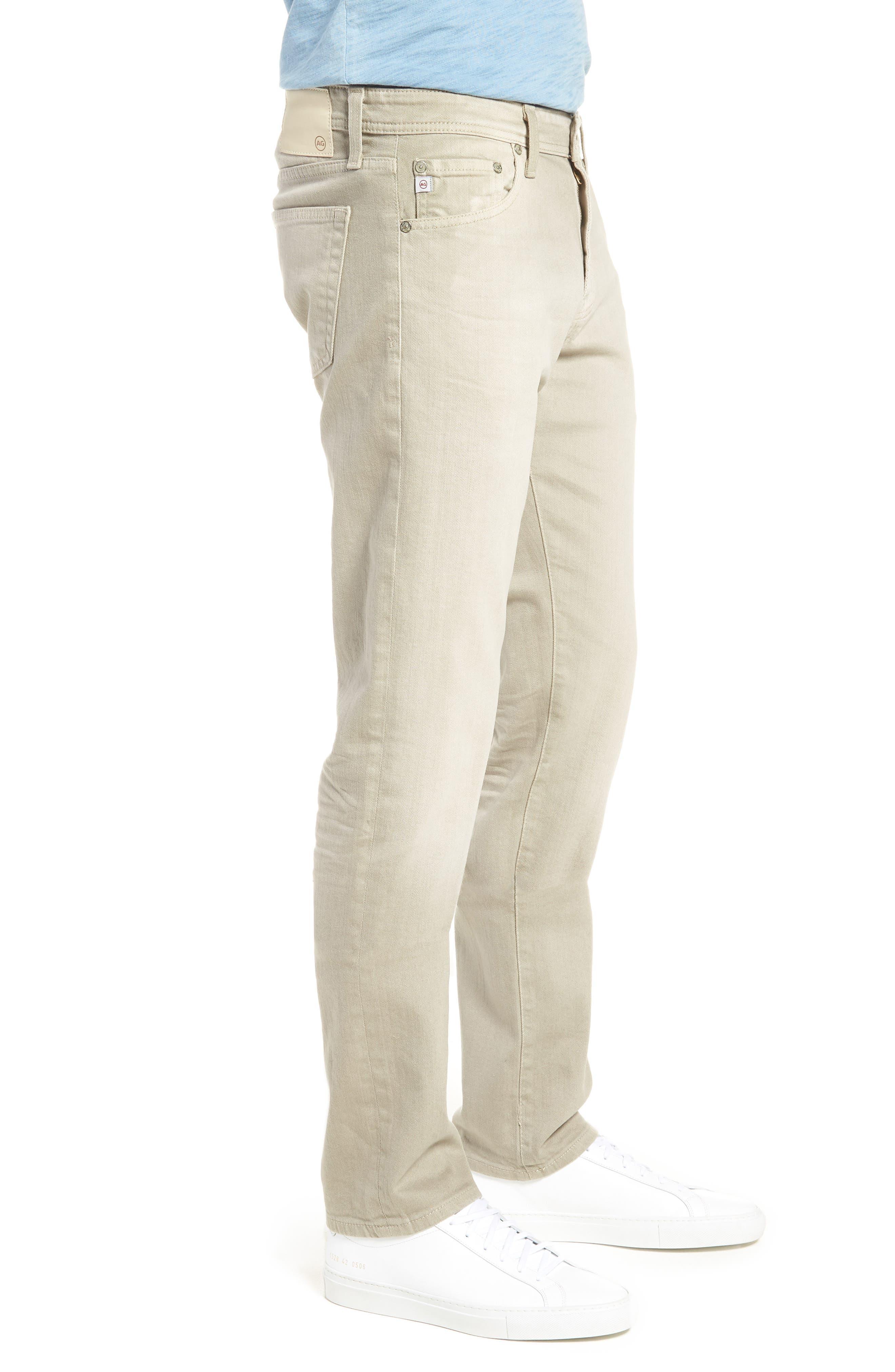 Tellis Slim Leg Twill Pants,                             Alternate thumbnail 3, color,                             268