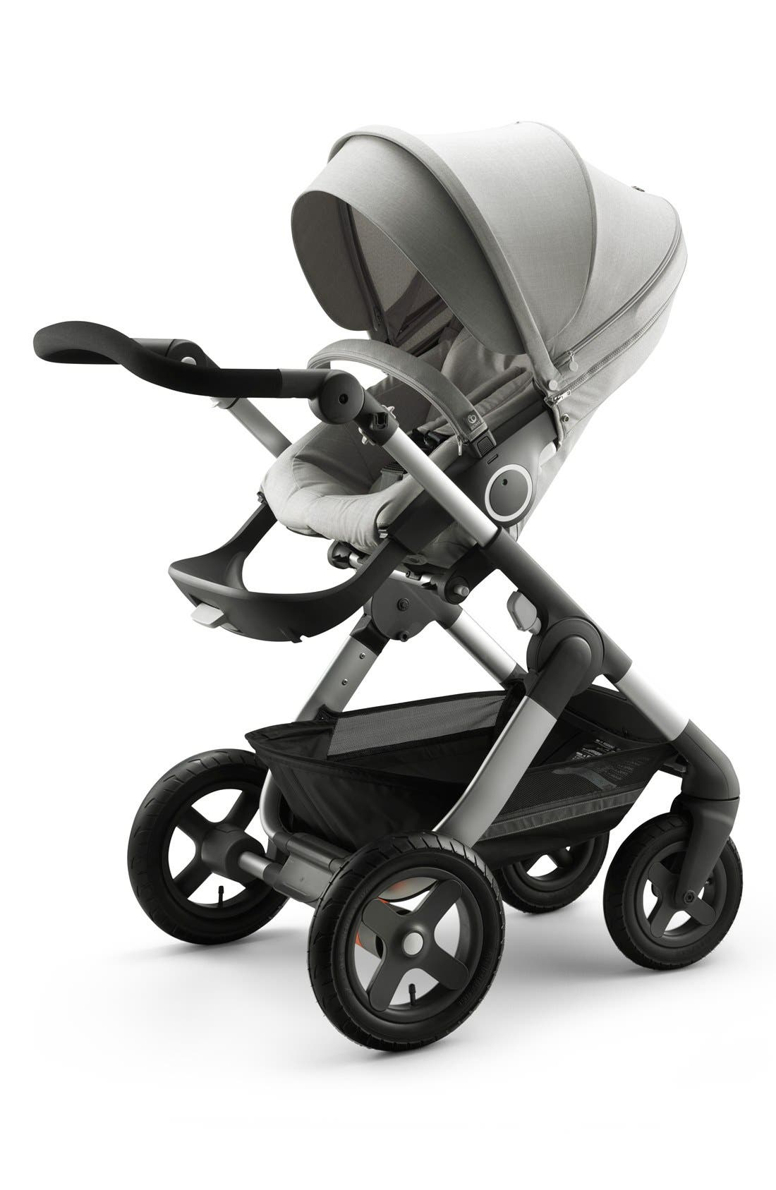 Trailz<sup>™</sup> All Terrain Stroller,                         Main,                         color, GREY MELANGE