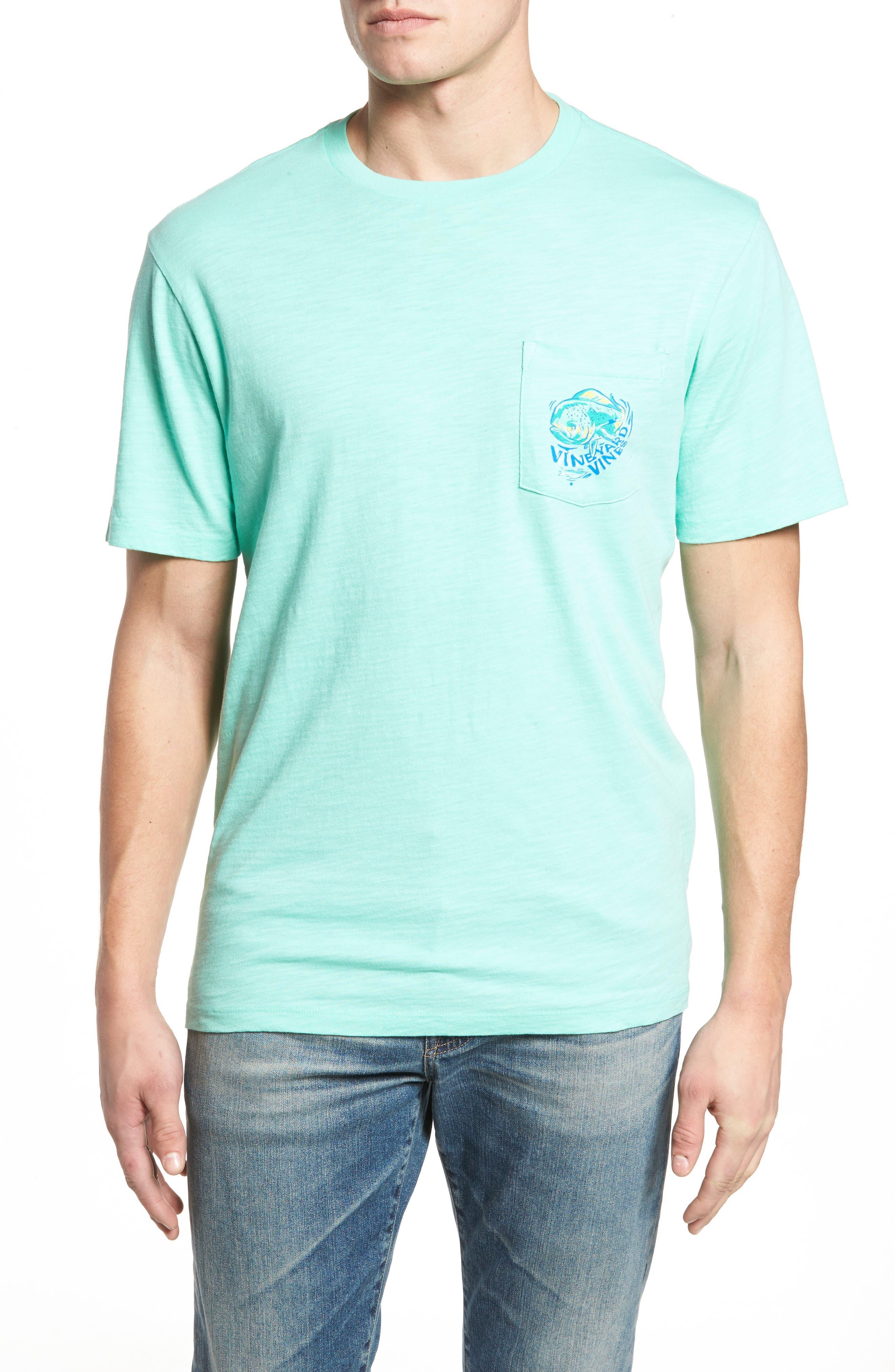 Painted Mahi Graphic Slub T-Shirt,                             Main thumbnail 1, color,