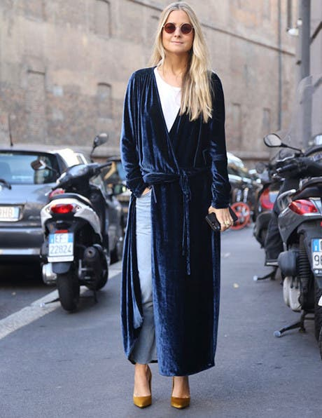 How to Wear Dresses Over Denim