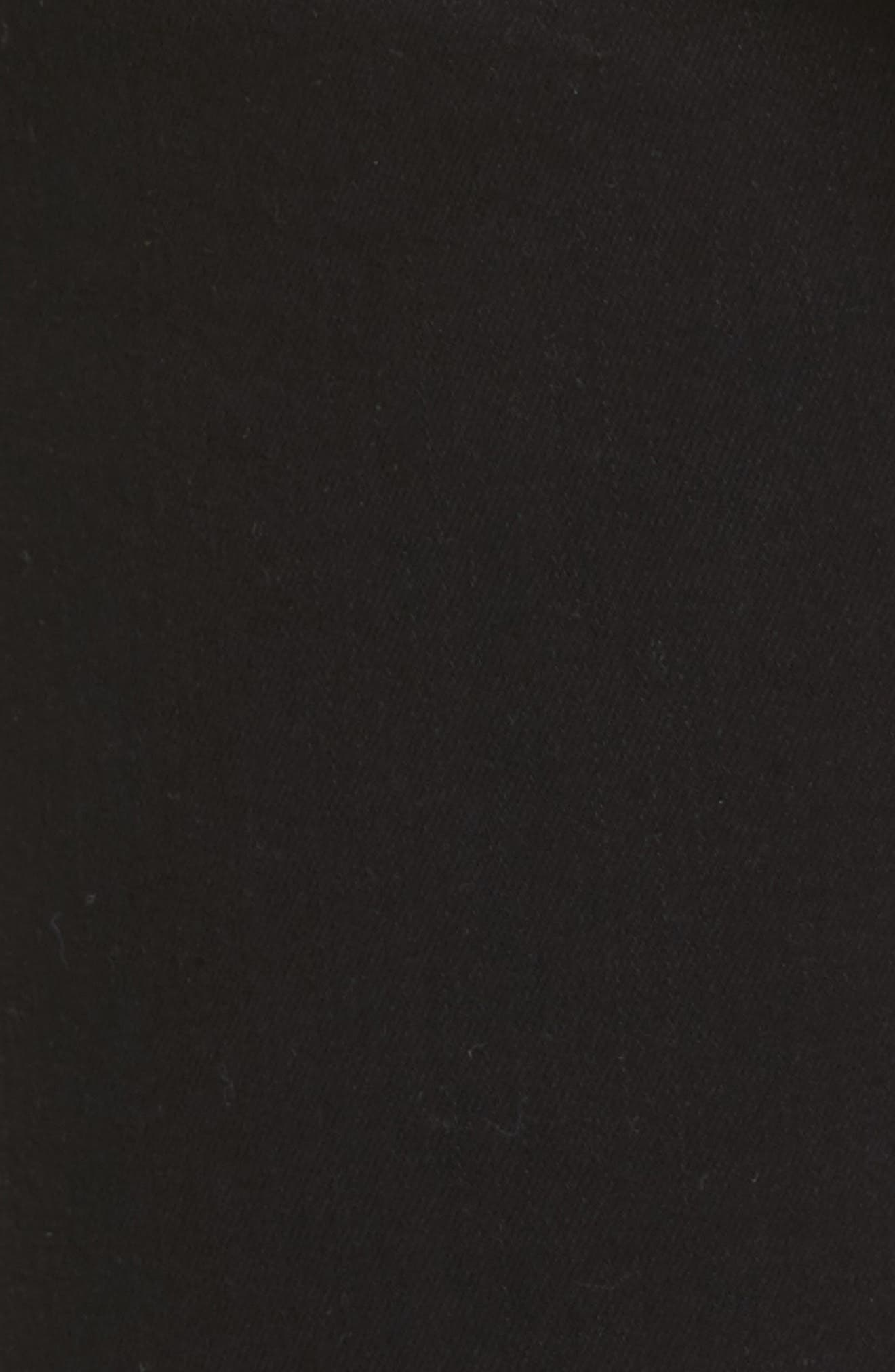 FRAME,                             Le Color High Waist Skinny Jeans,                             Alternate thumbnail 6, color,                             001