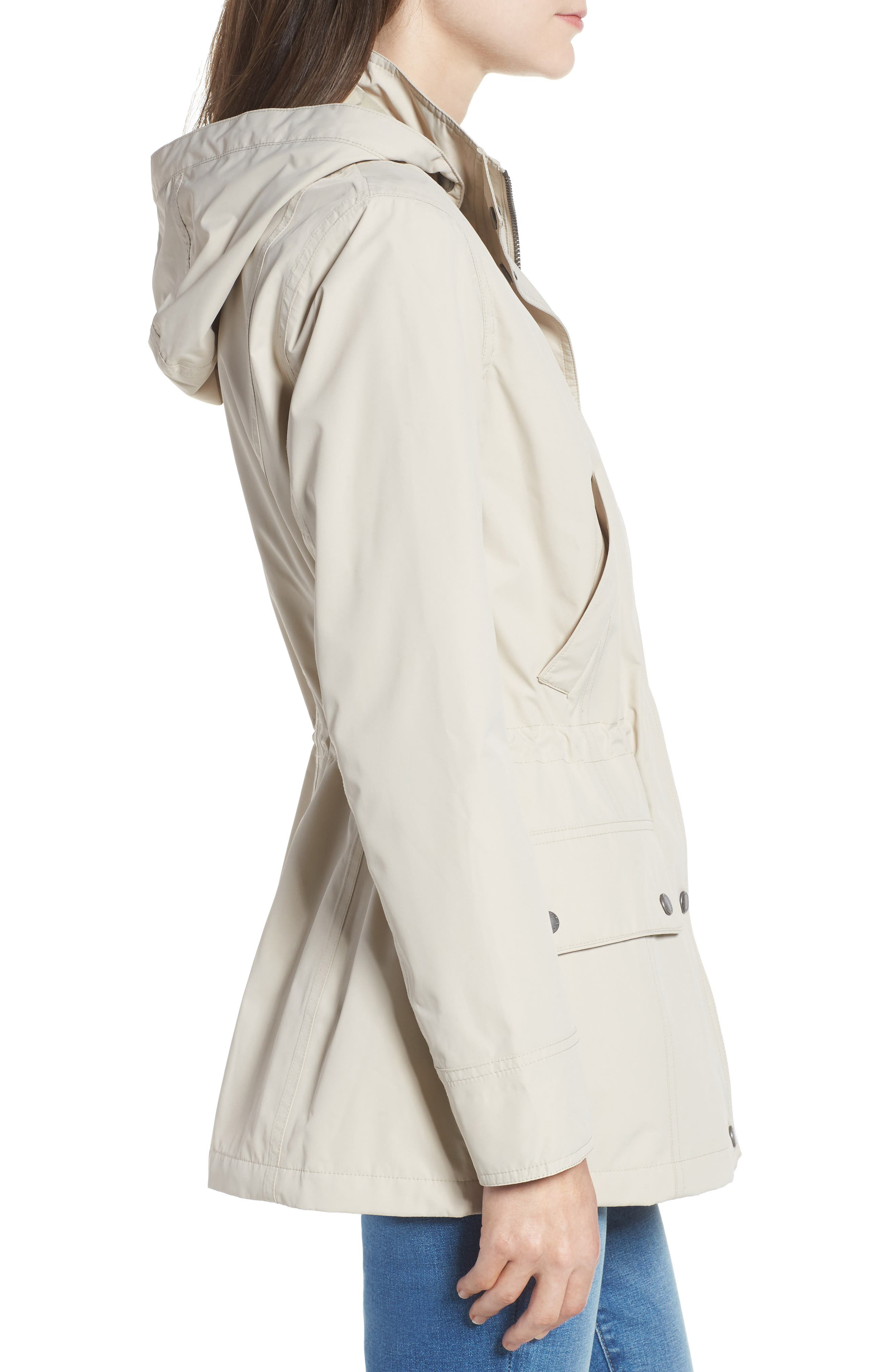 Kinnordy Waterproof Hooded Jacket,                             Alternate thumbnail 3, color,                             907