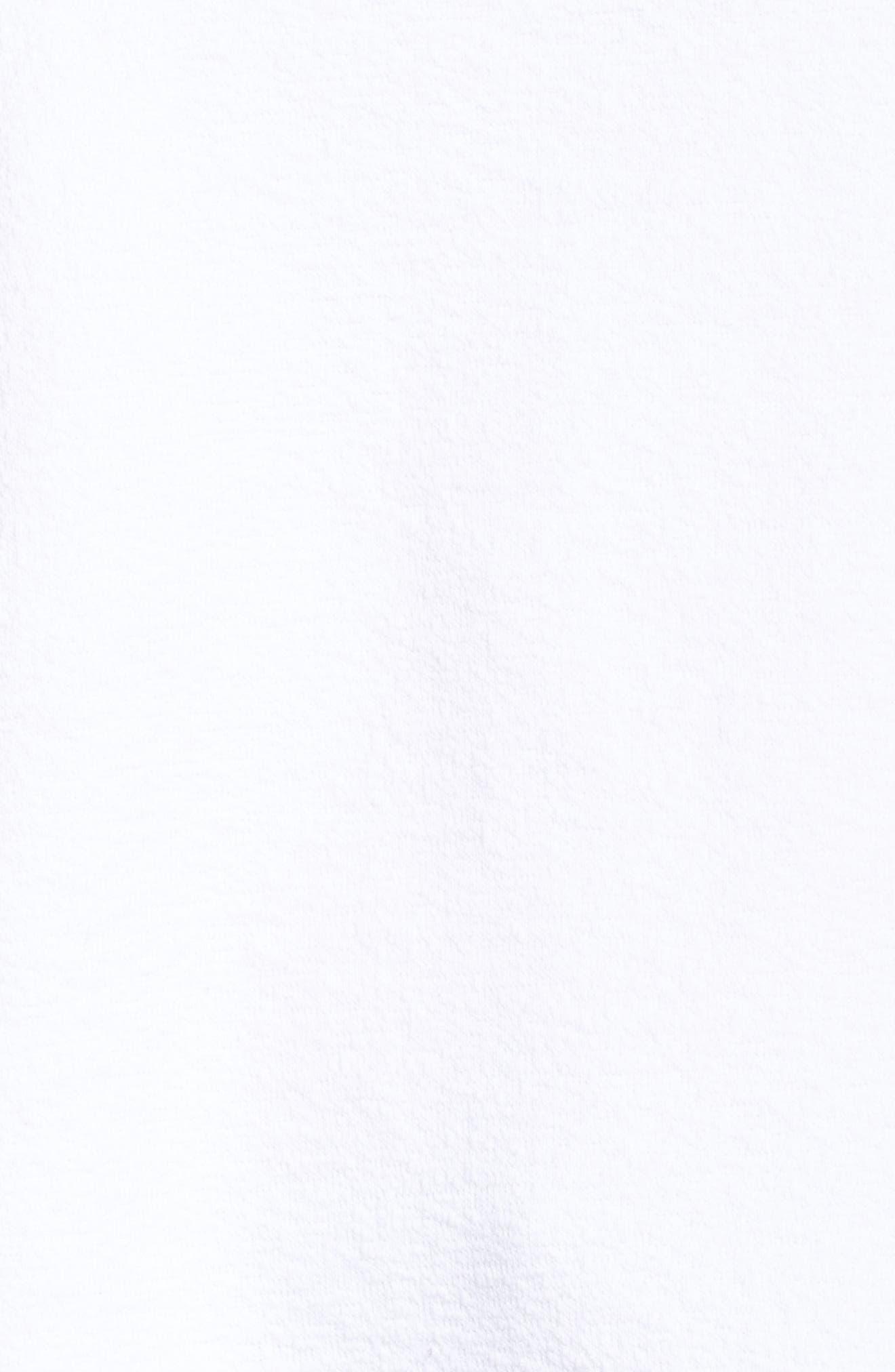 Side Slit Sweatshirt,                             Alternate thumbnail 5, color,                             100