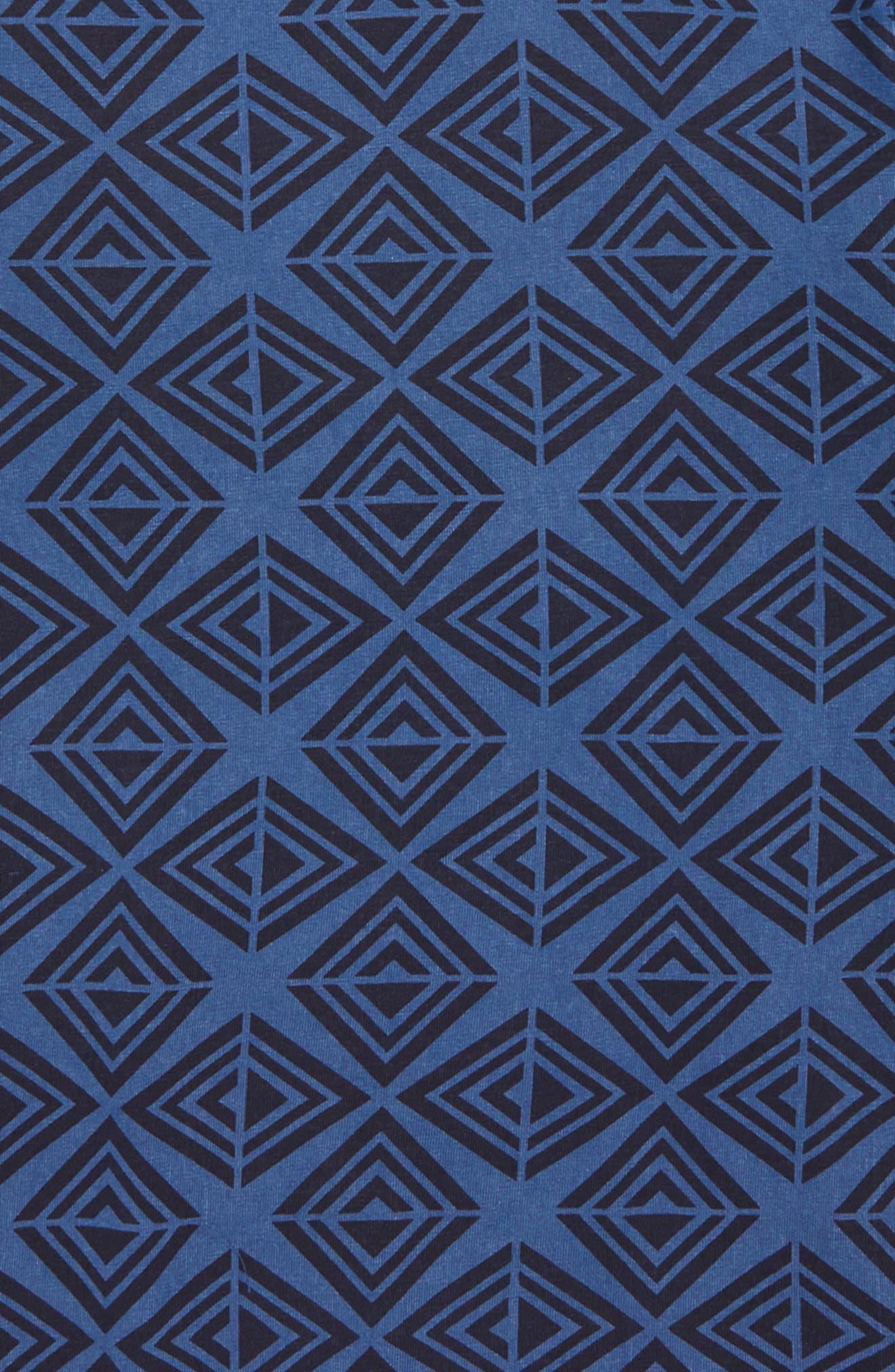 Geometric T-Shirt,                             Alternate thumbnail 4, color,