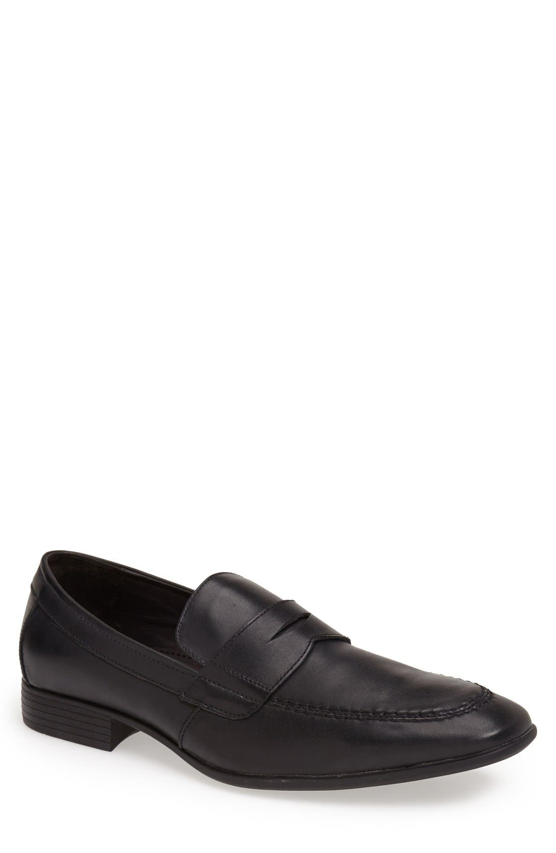 'Reese' Penny Loafer, Main, color, 001