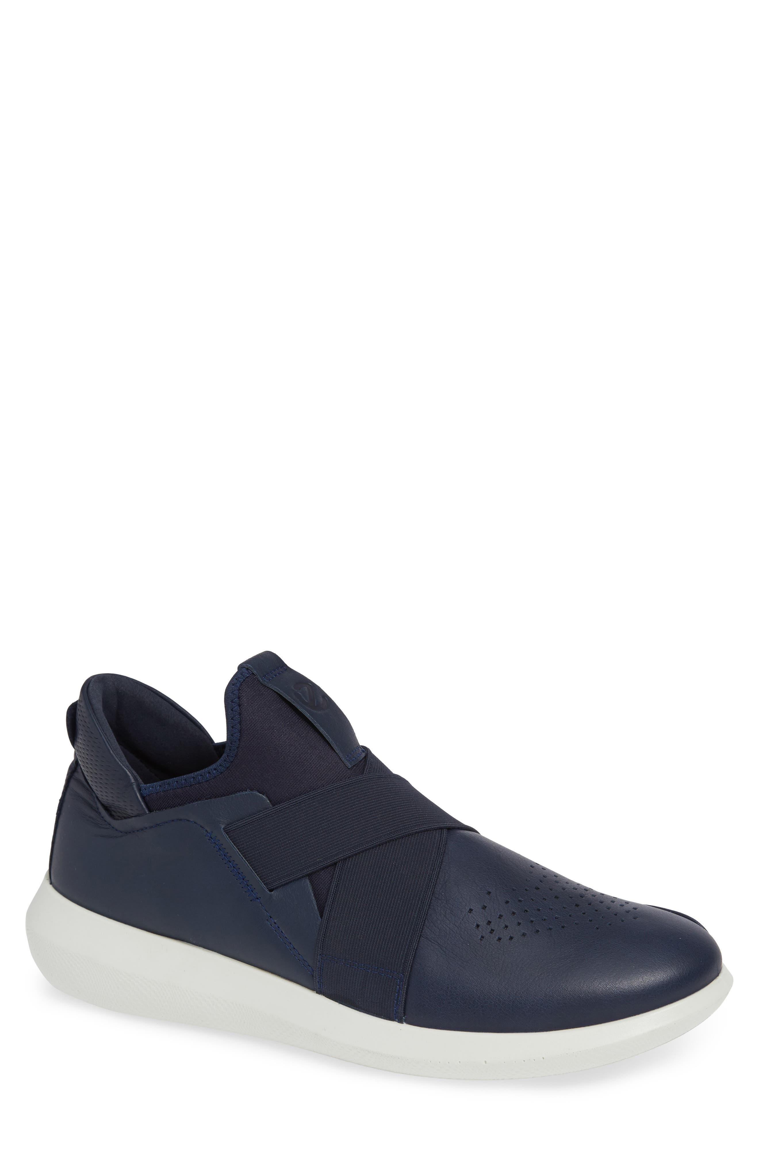 Scinapse Band Slip-On,                             Main thumbnail 1, color,                             TRUE NAVY LEATHER