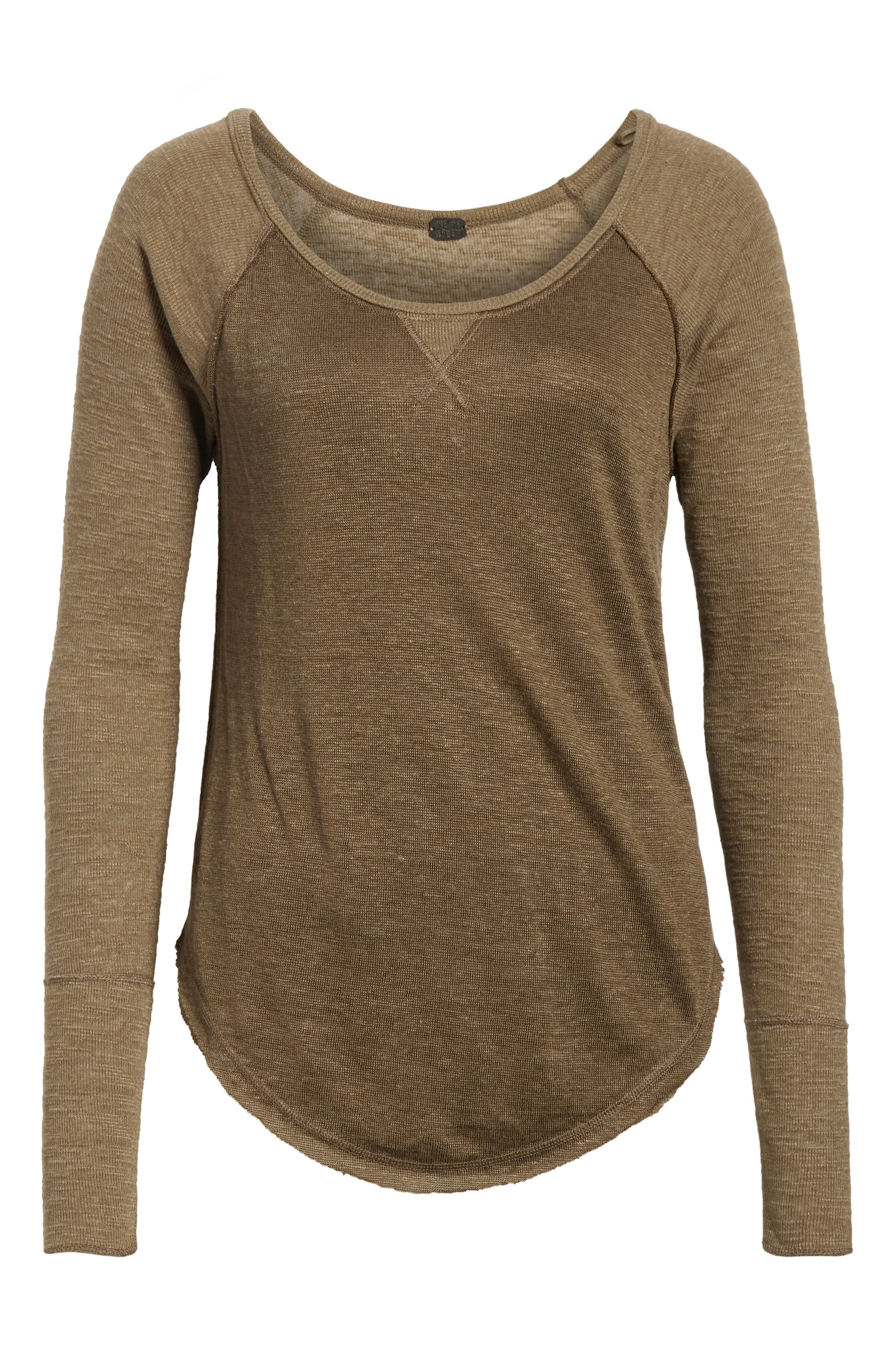 We the Free by Free People Friday Feelin Tee,                             Alternate thumbnail 6, color,                             303