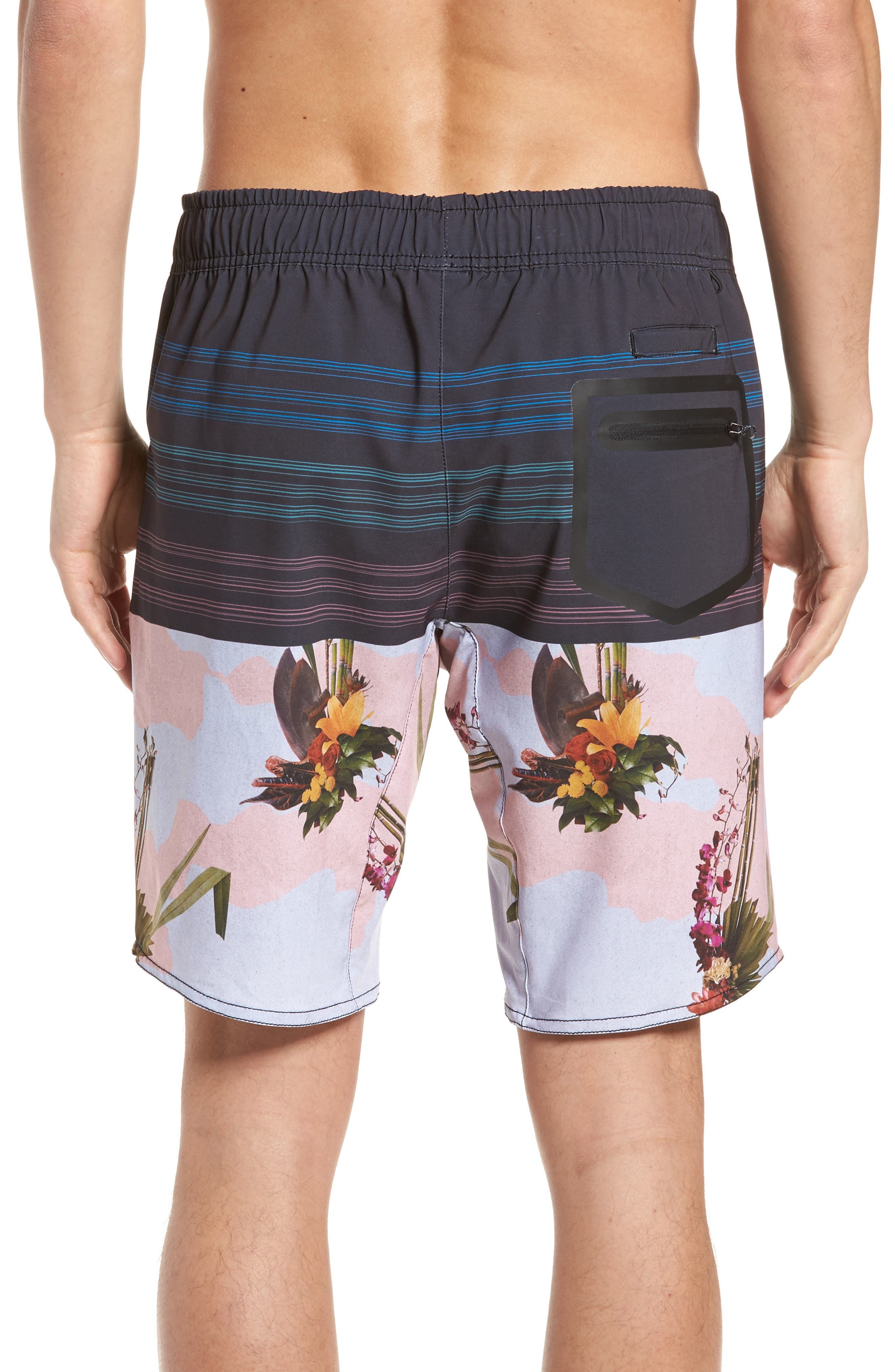 Oasis Swim Shorts,                             Alternate thumbnail 2, color,                             001