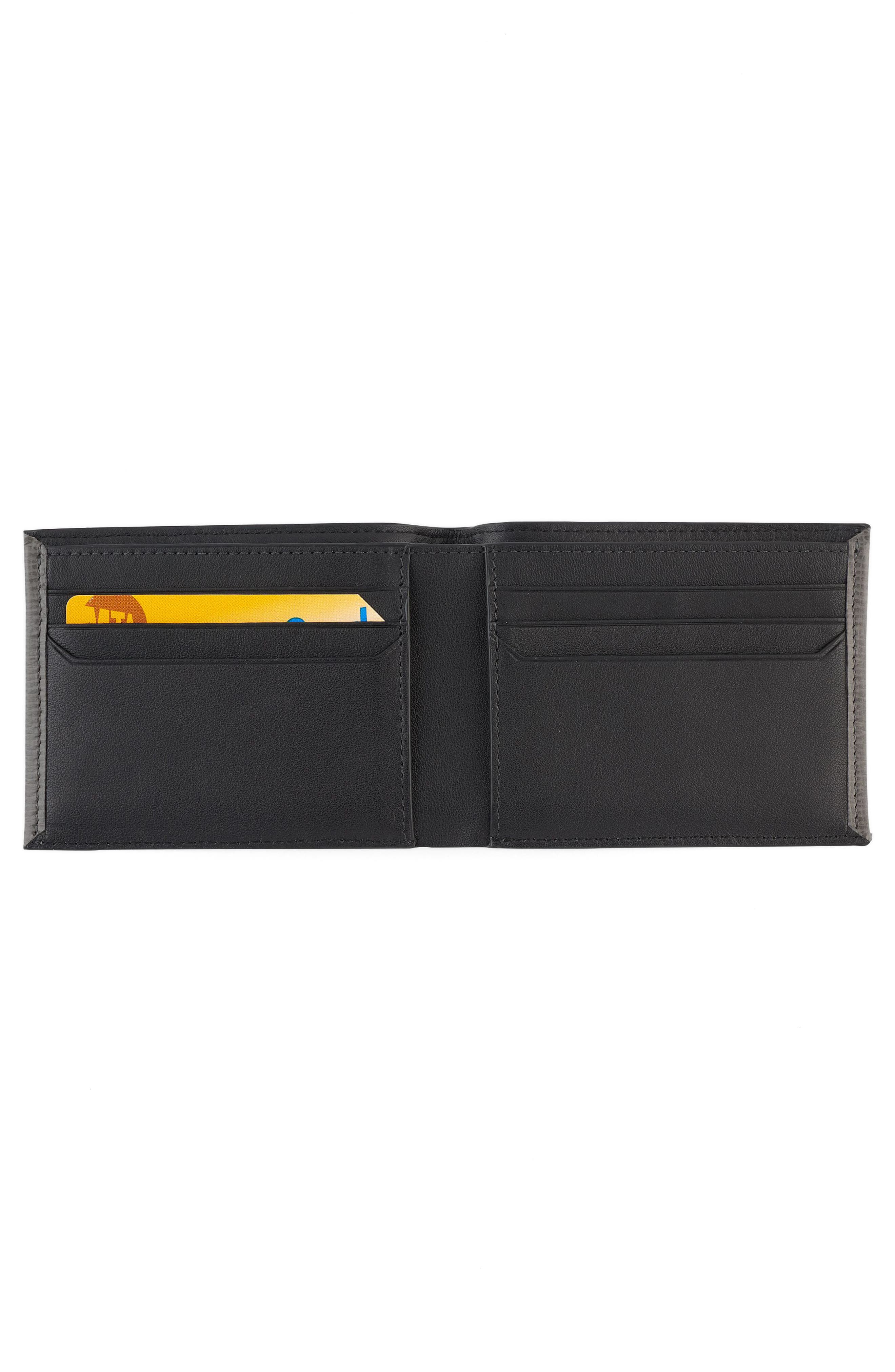 Monaco Leather RFID Wallet,                             Alternate thumbnail 2, color,                             020