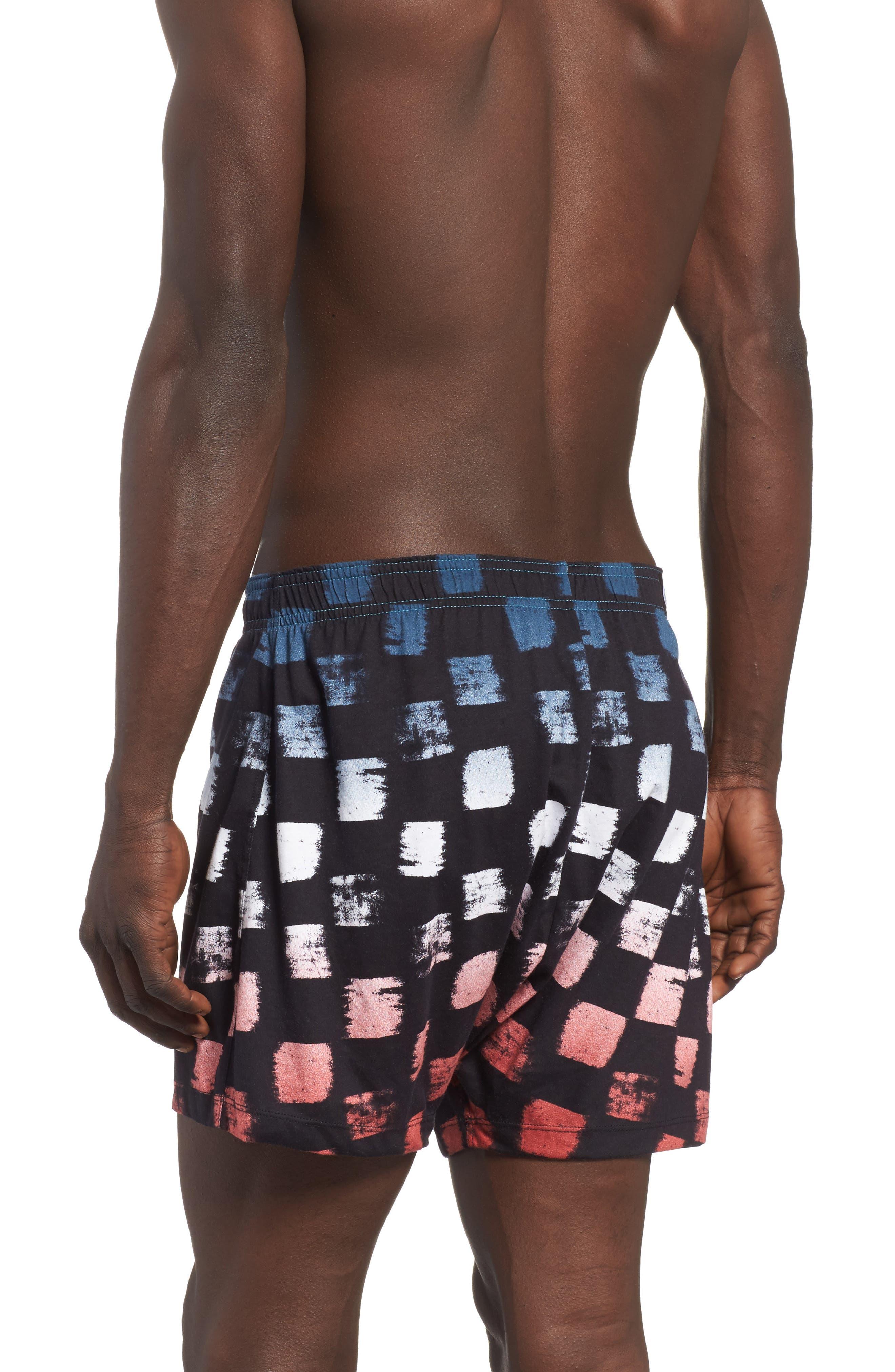 Checker Fader Boxer Shorts,                             Alternate thumbnail 4, color,