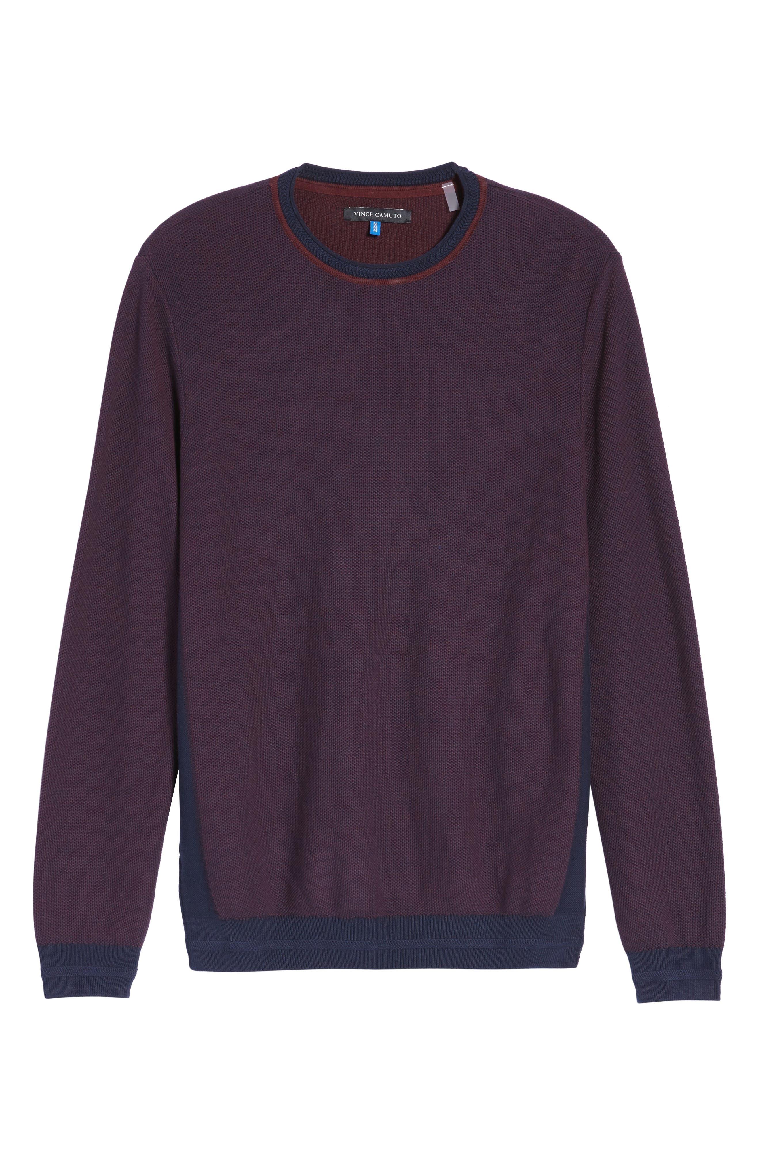 Space Dye Slim Fit Sweater,                             Alternate thumbnail 18, color,