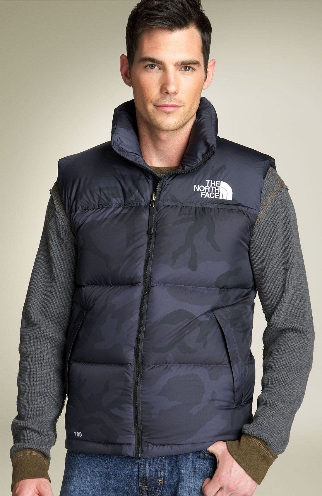 'Nuptse' Quilted Vest,                             Main thumbnail 5, color,