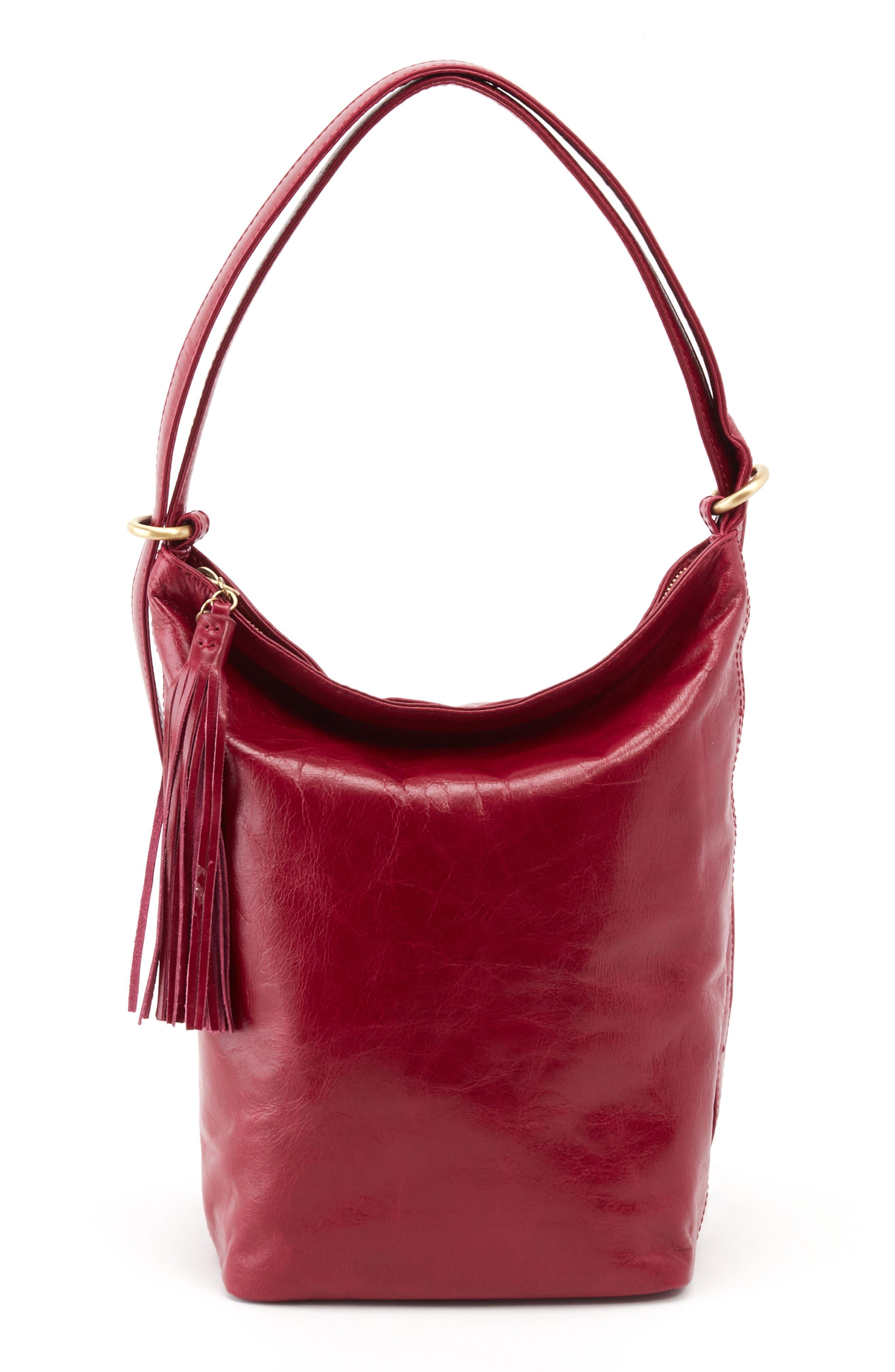 Blaze Convertible Shoulder Bag,                             Main thumbnail 1, color,                             RUBY