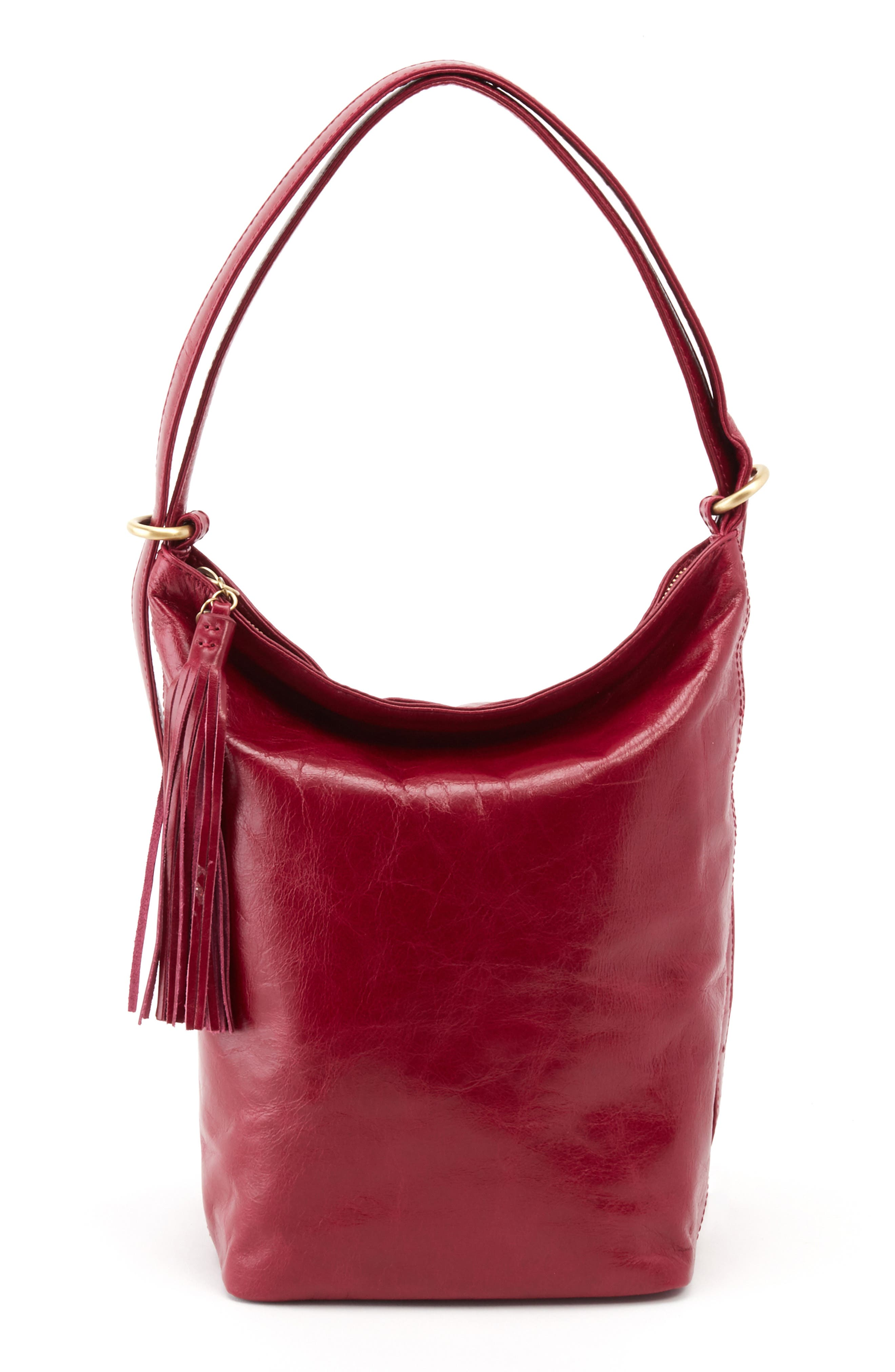 Blaze Convertible Shoulder Bag,                         Main,                         color, RUBY