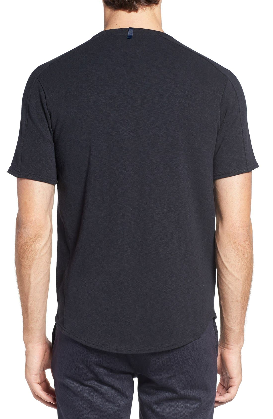 Douglas Cotton Blend T-Shirt,                             Alternate thumbnail 2, color,                             001