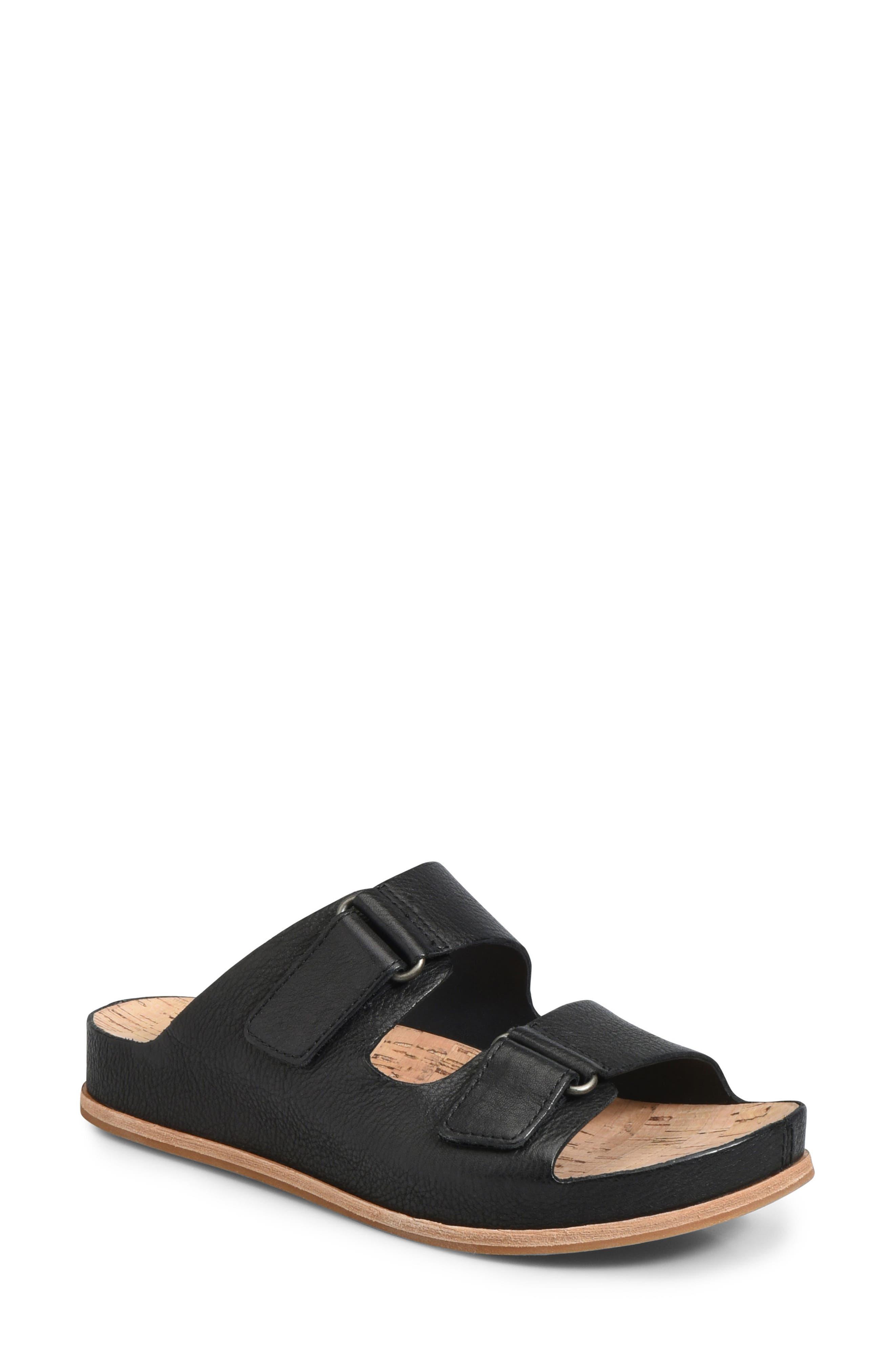 Kork-Ease Torreya Slide Sandal, Black