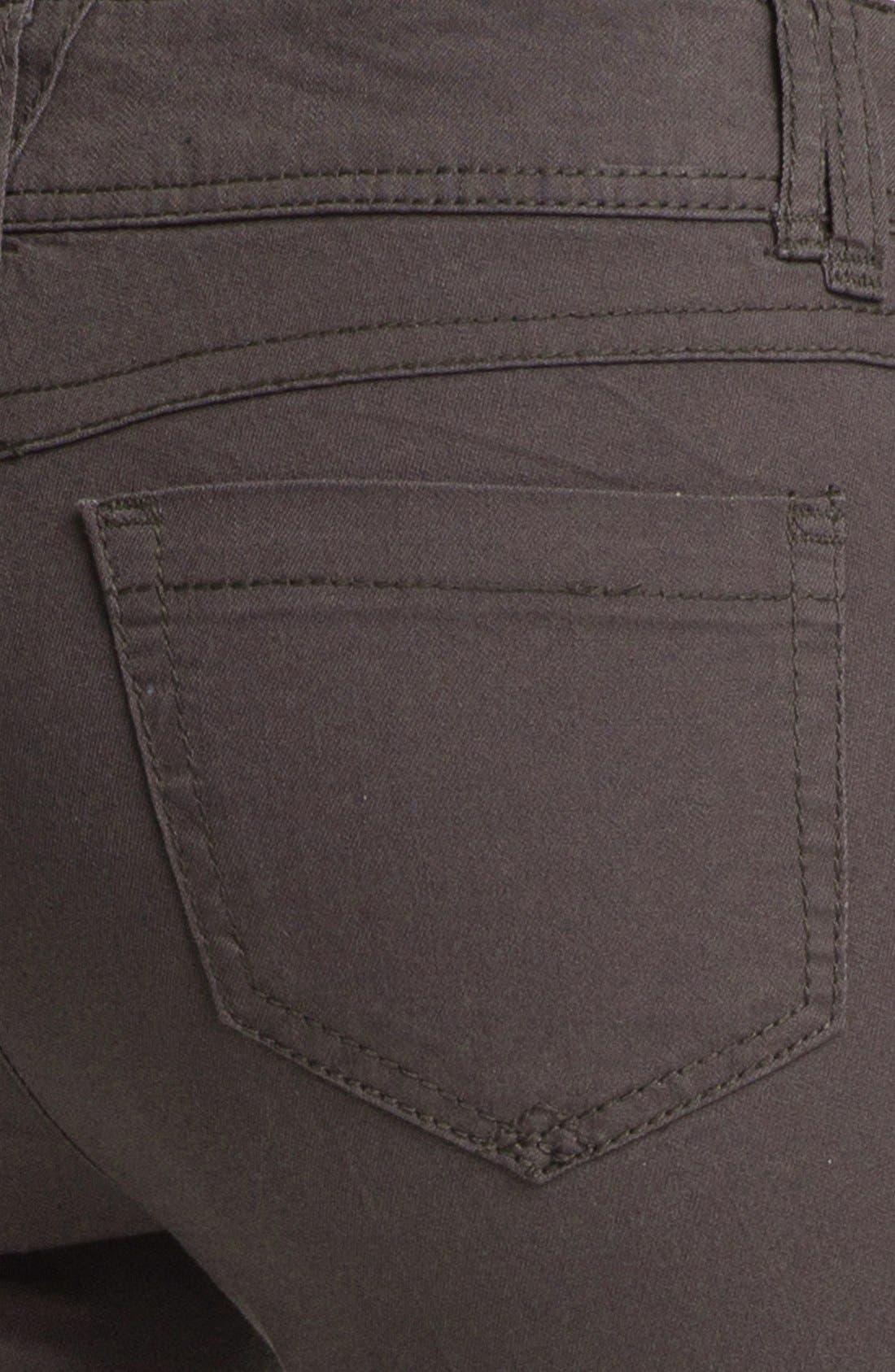 Colored Denim Skinny Jeans,                             Alternate thumbnail 2, color,                             020