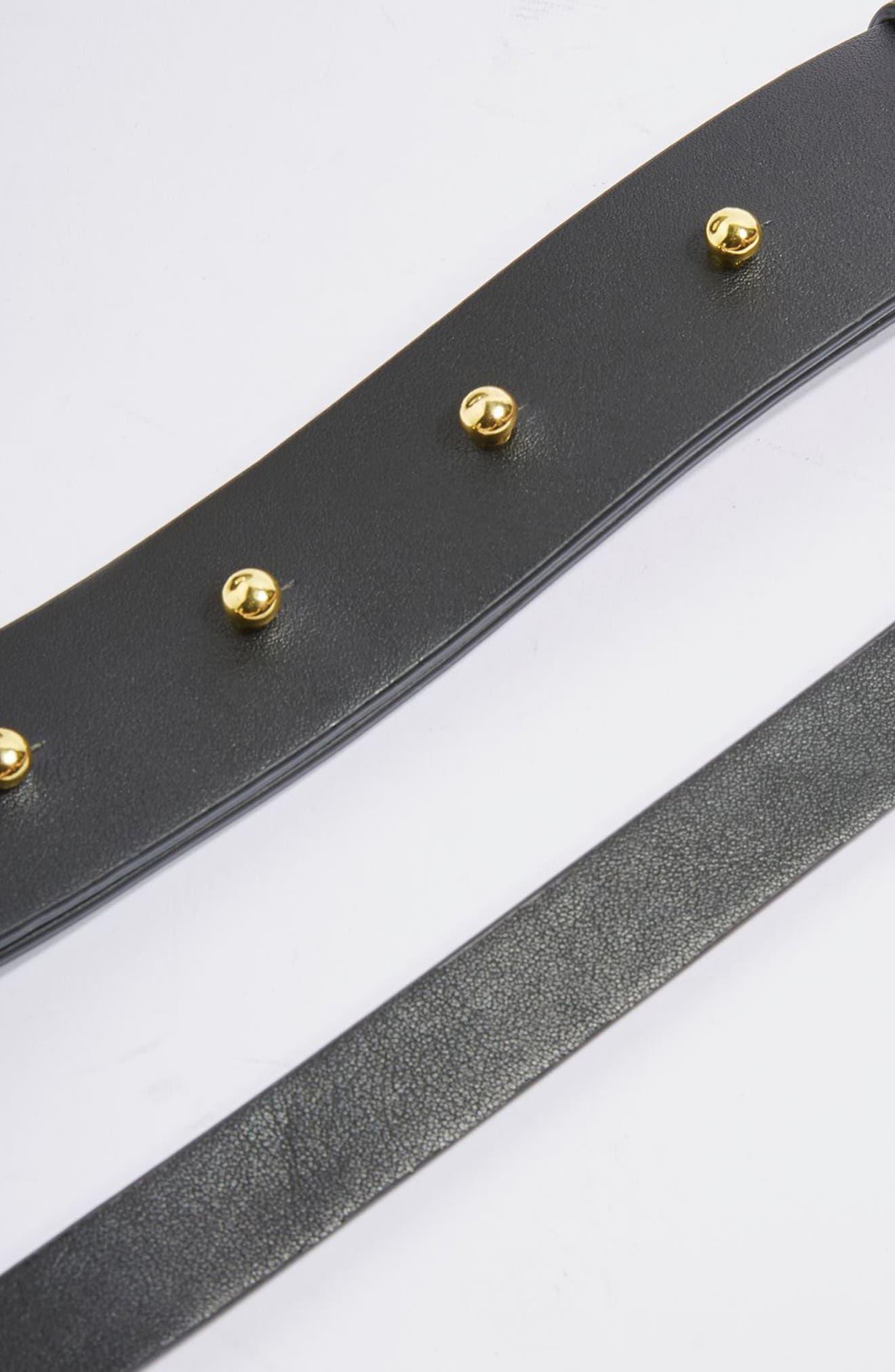 Shay Ring Shoulder Bag,                             Alternate thumbnail 3, color,                             100