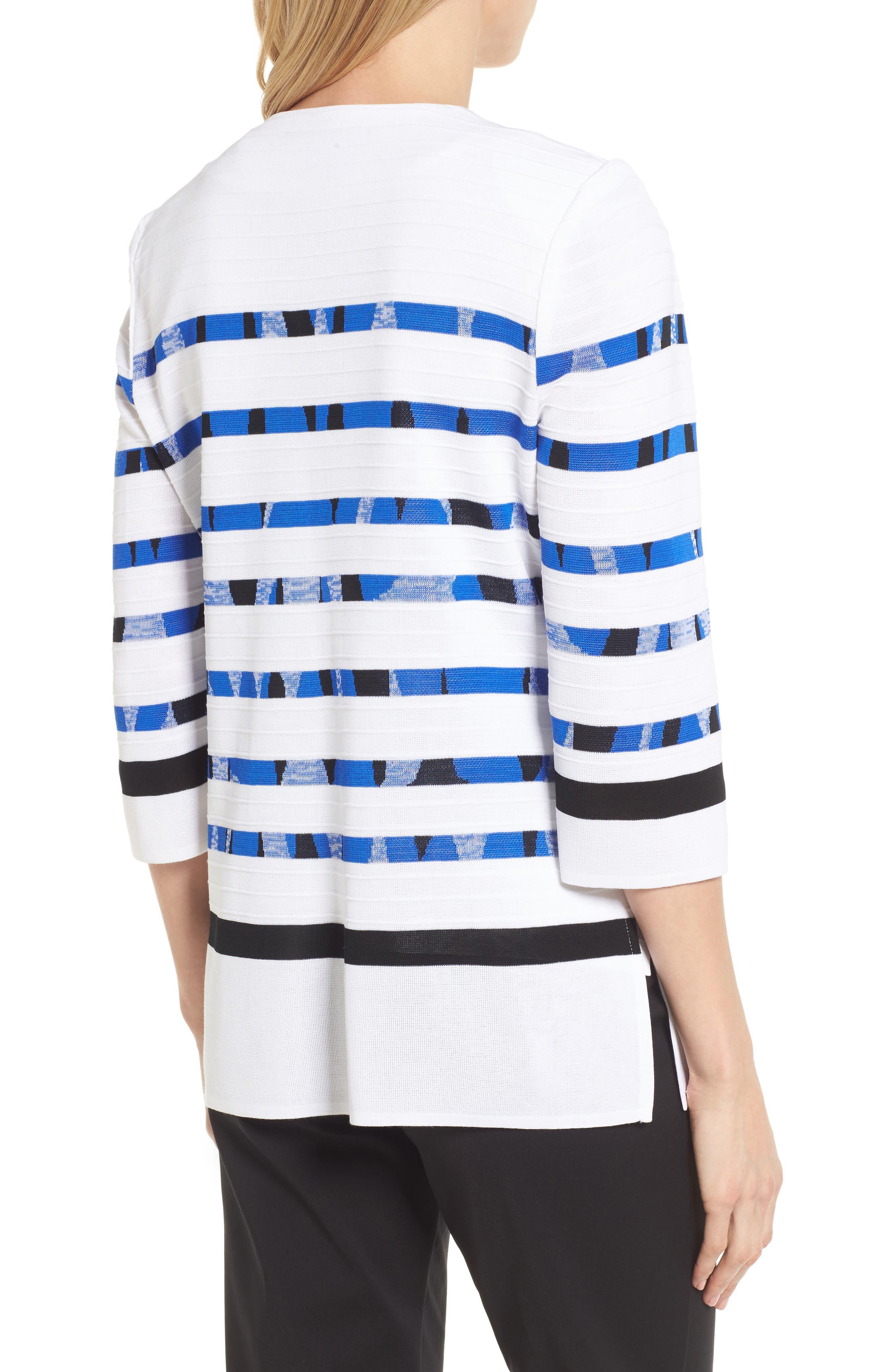 Stripe Cardigan,                             Alternate thumbnail 2, color,                             117