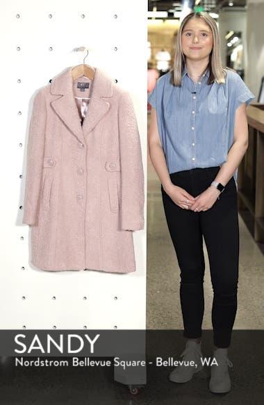 Bouclé Coat, sales video thumbnail