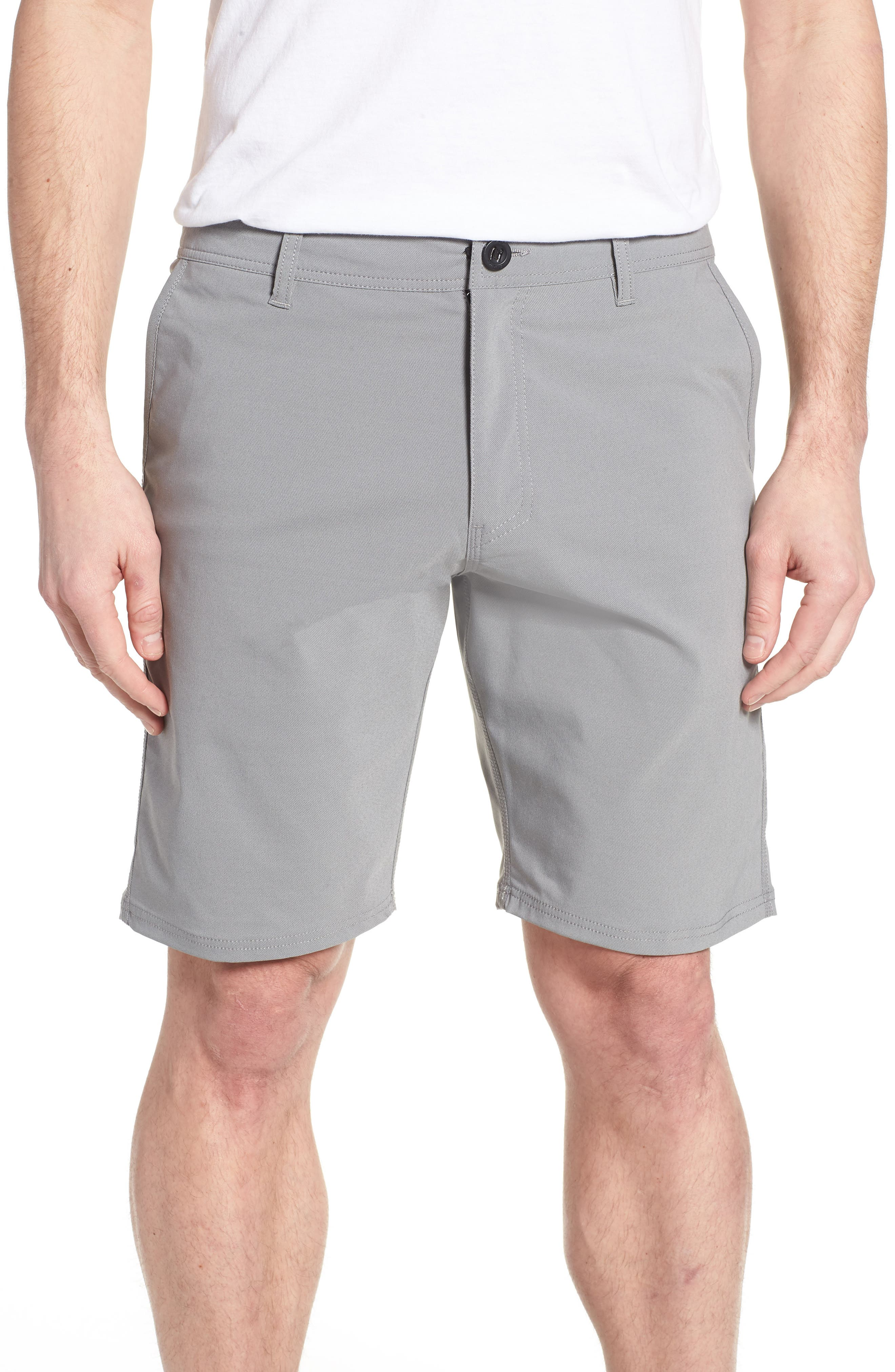 Stockton Hybrid Shorts,                             Main thumbnail 1, color,                             GREY