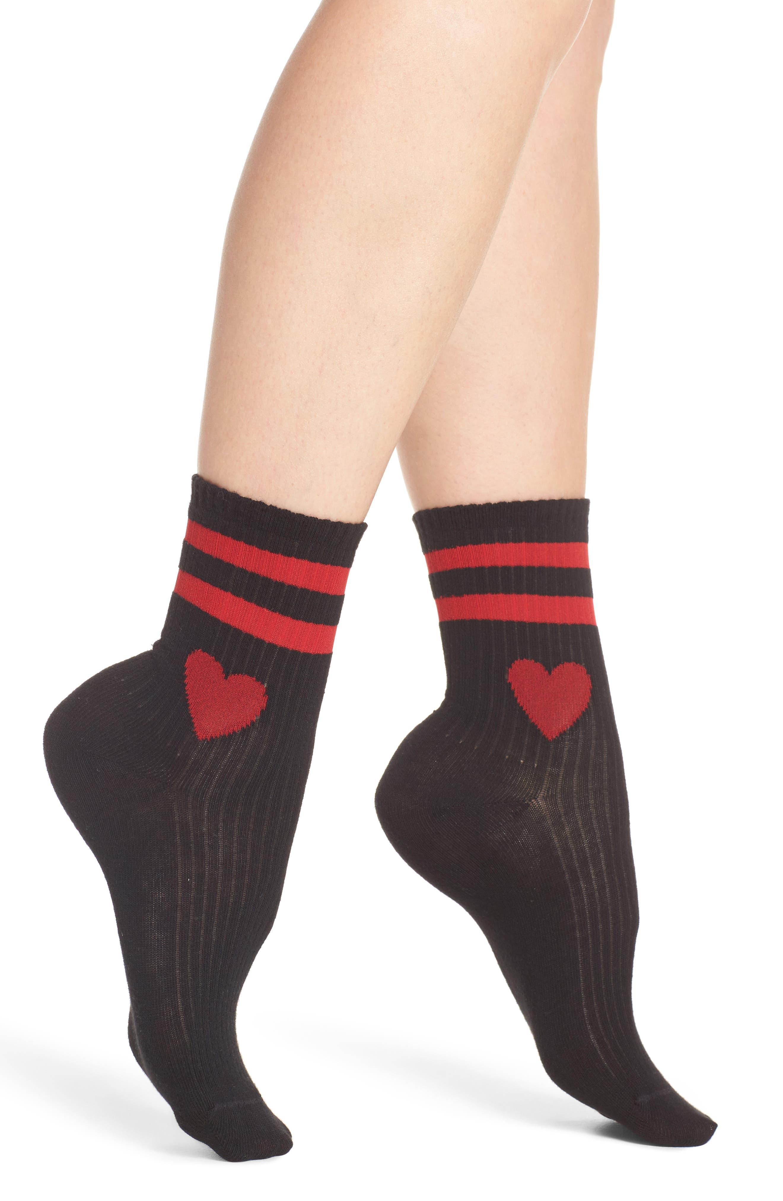 Sporty Crew Socks,                         Main,                         color, 005