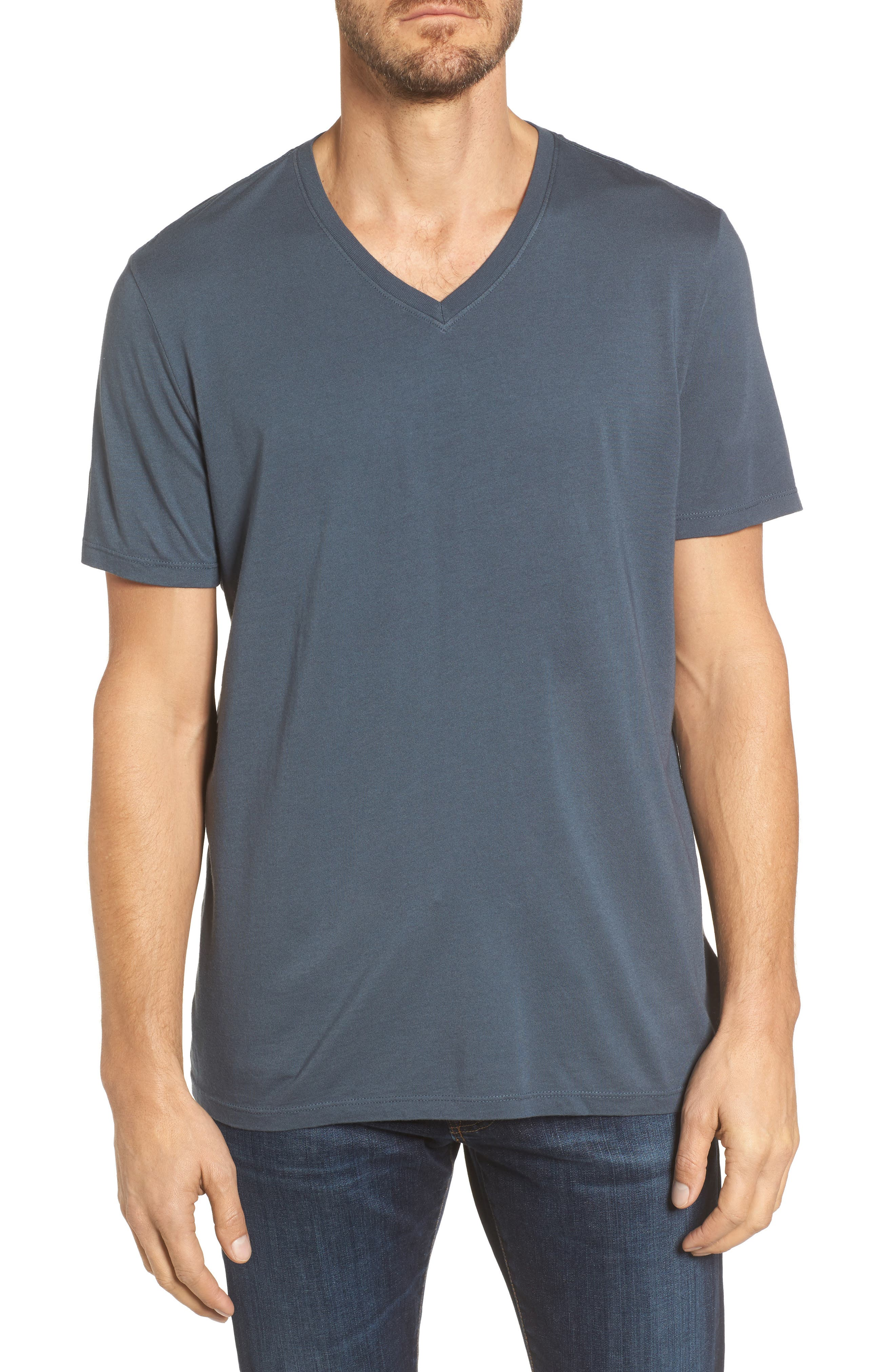 Bryce V-Neck T-Shirt,                             Main thumbnail 1, color,