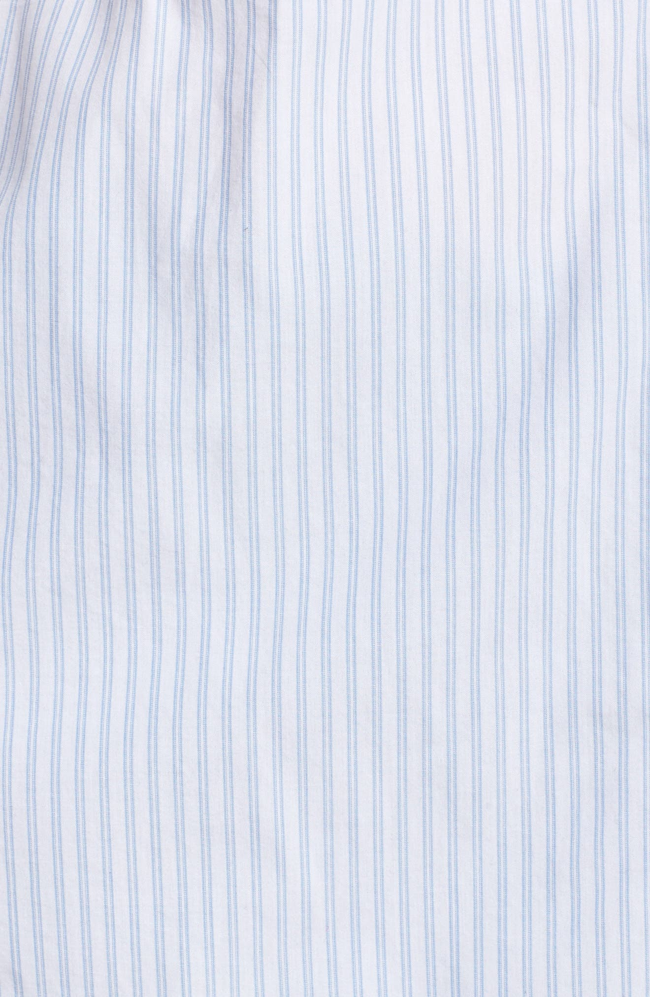 Stripe Button Front Shirt,                             Alternate thumbnail 5, color,                             420