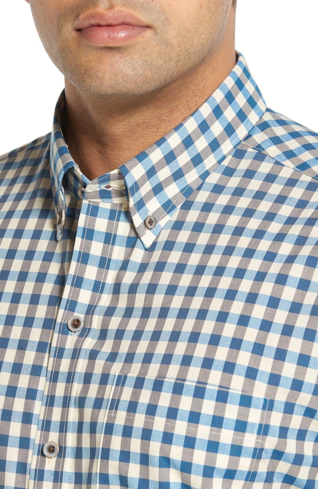 'Wildwood' Regular Fit Check Sport Shirt,                             Alternate thumbnail 8, color,