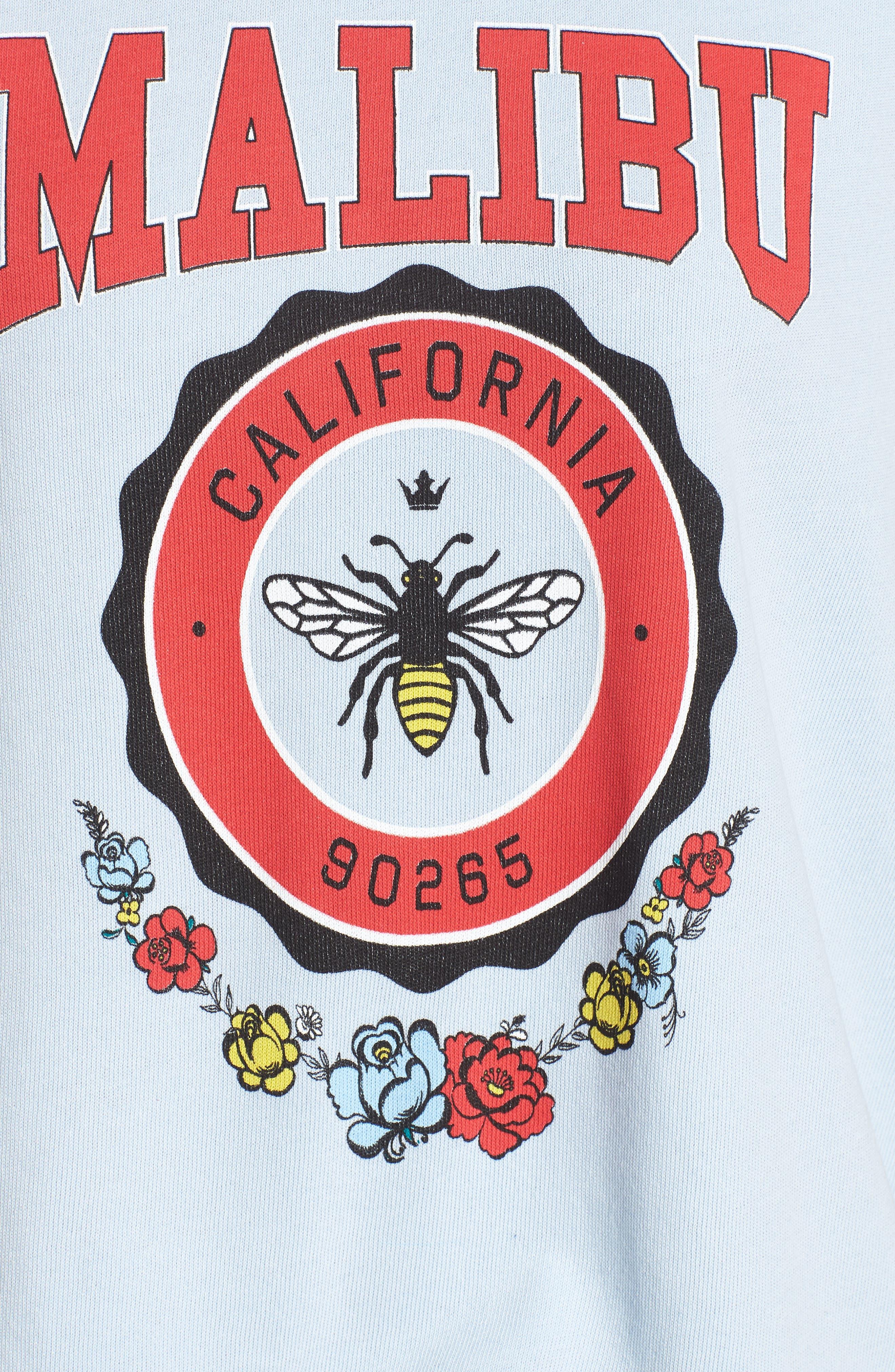 Malibu Crest Sommers Sweatshirt,                             Alternate thumbnail 5, color,                             400
