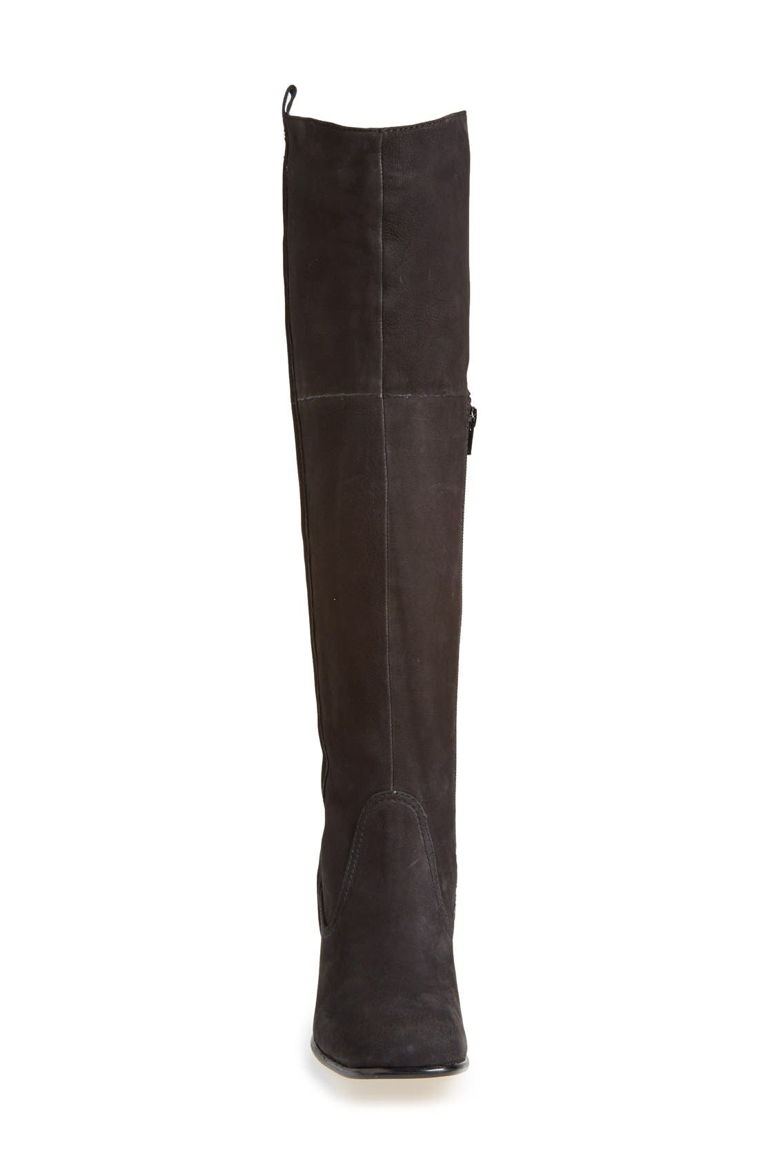 'Ventura' Over the Knee Boot,                             Alternate thumbnail 3, color,                             001